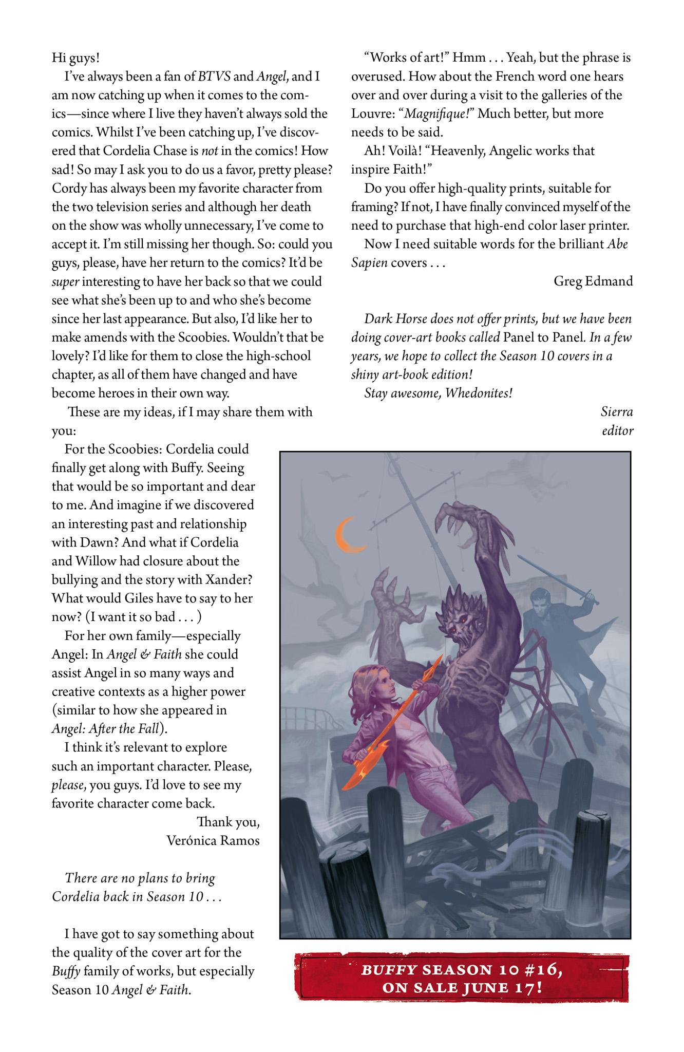 Read online Angel & Faith Season 10 comic -  Issue #15 - 26