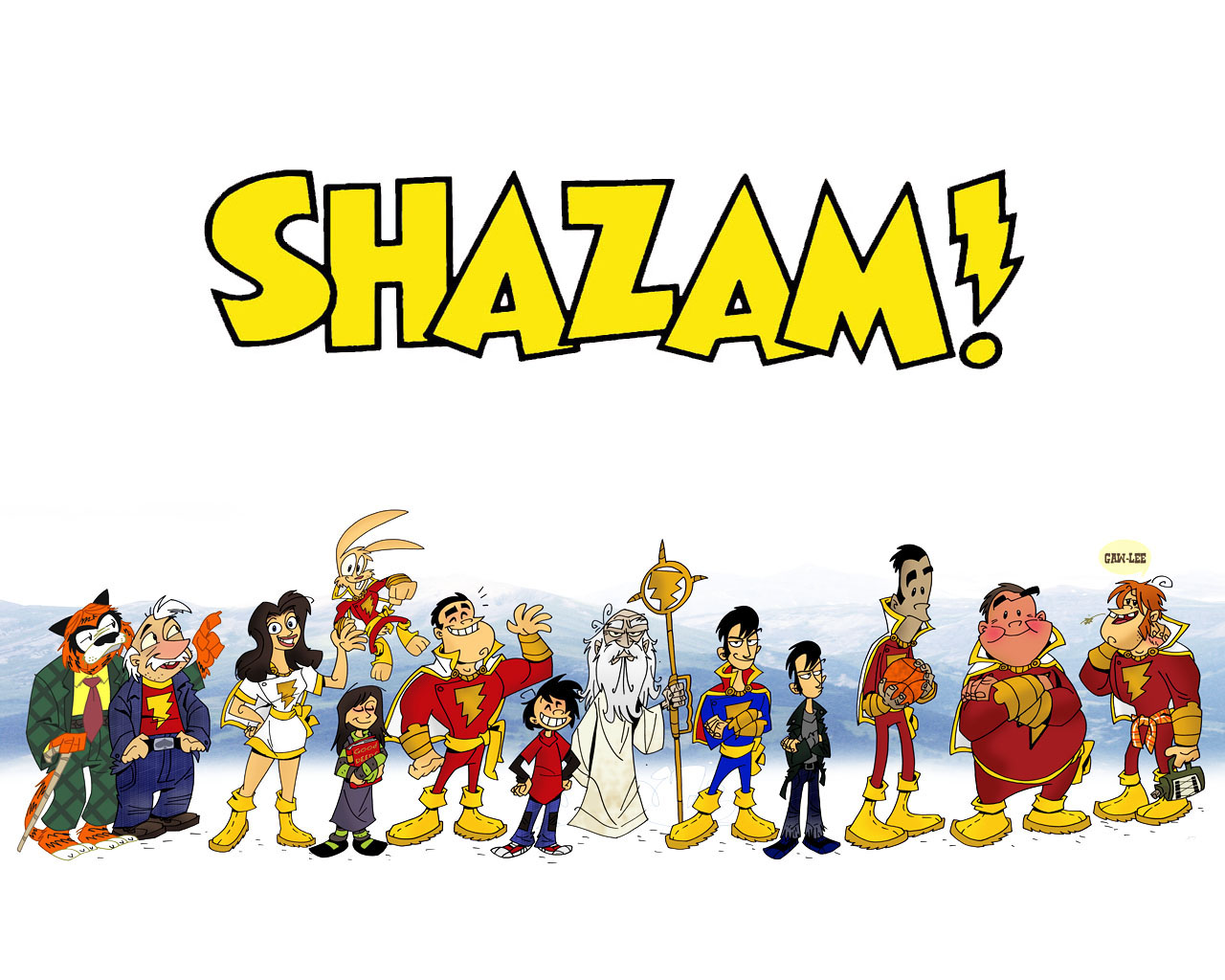 Read online Trials of Shazam comic -  Issue #7 - 25