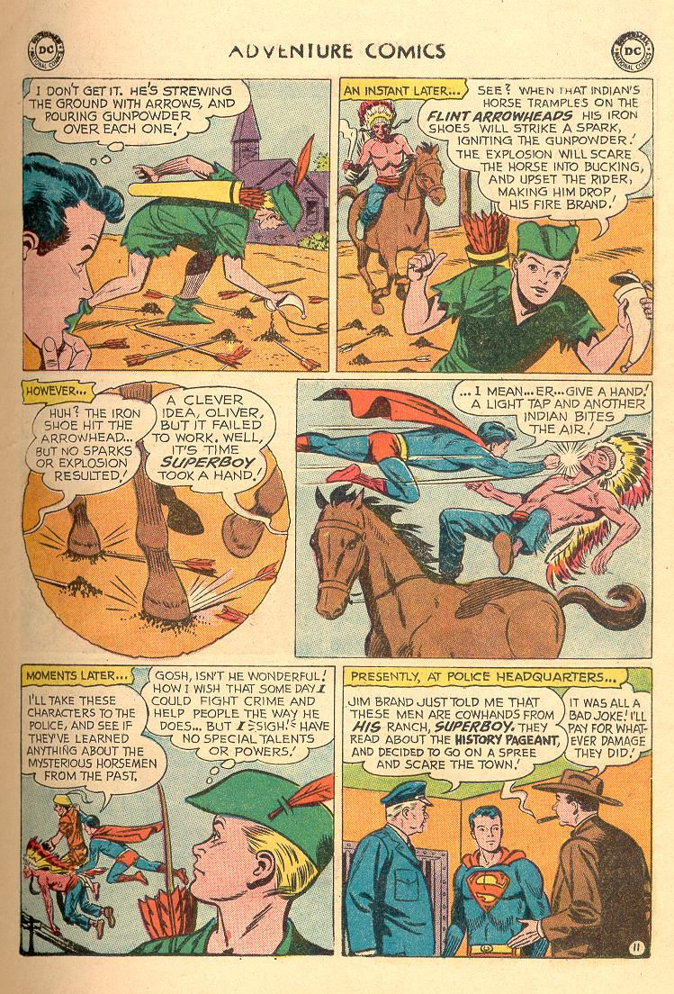 Read online Adventure Comics (1938) comic -  Issue #258 - 13