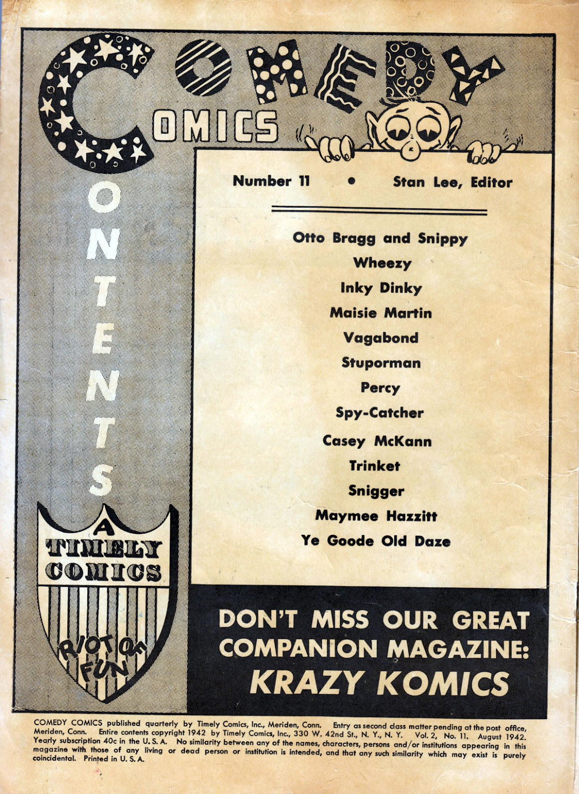 Read online Comedy Comics (1942) comic -  Issue #11 - 2