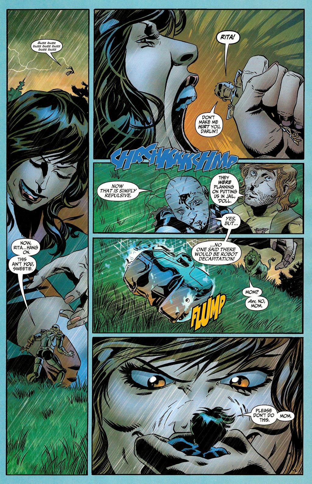 Read online Secret Six (2006) comic -  Issue #4 - 22