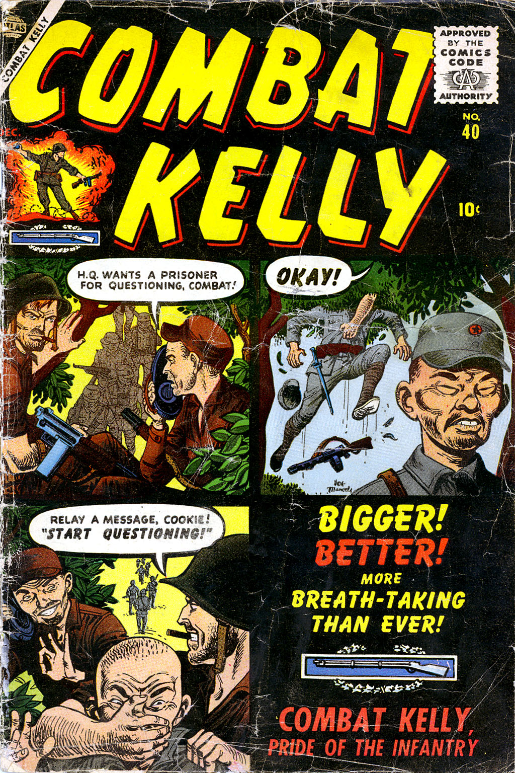 Combat Kelly (1951) 40 Page 1