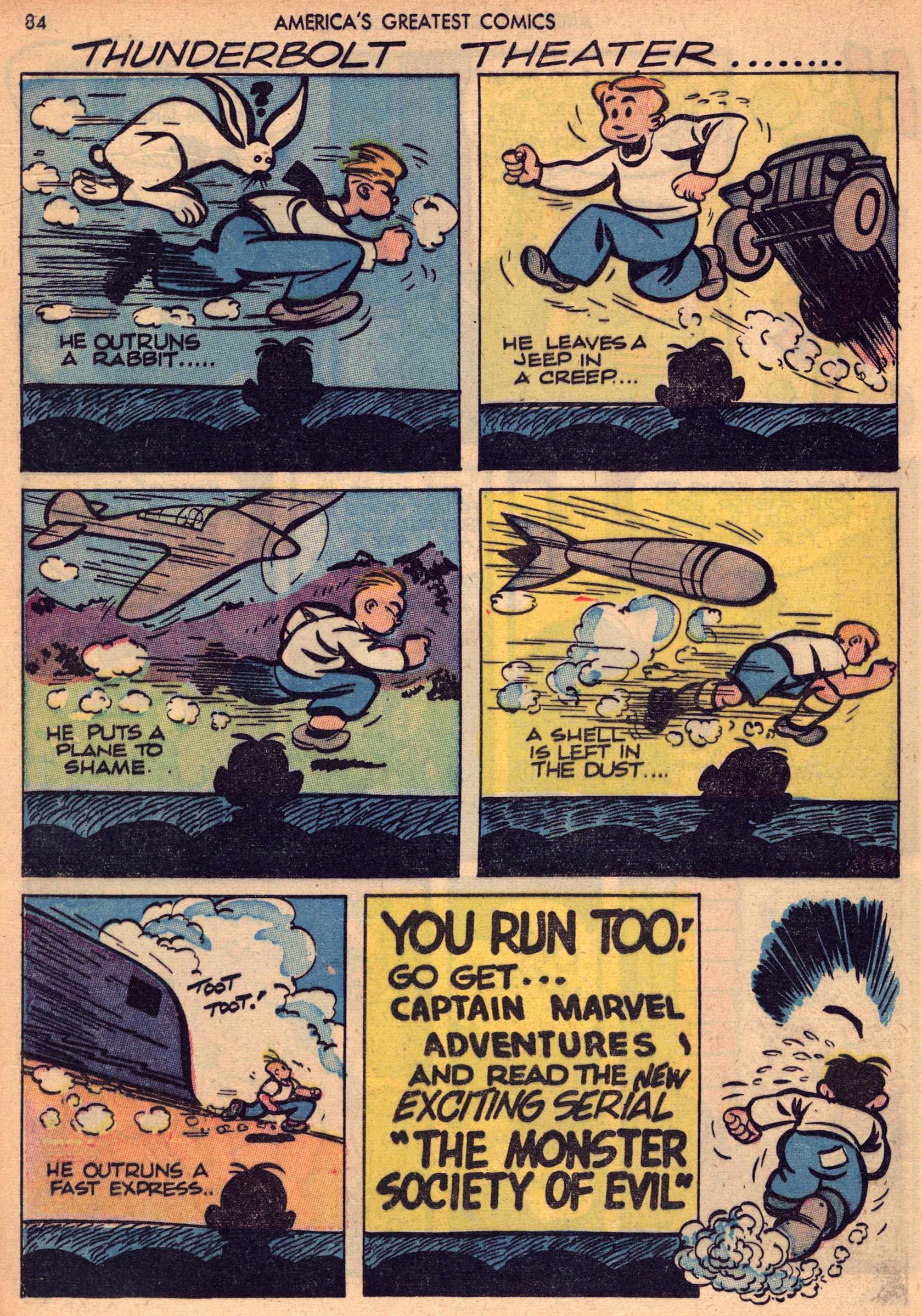 Read online America's Greatest Comics comic -  Issue #7 - 83