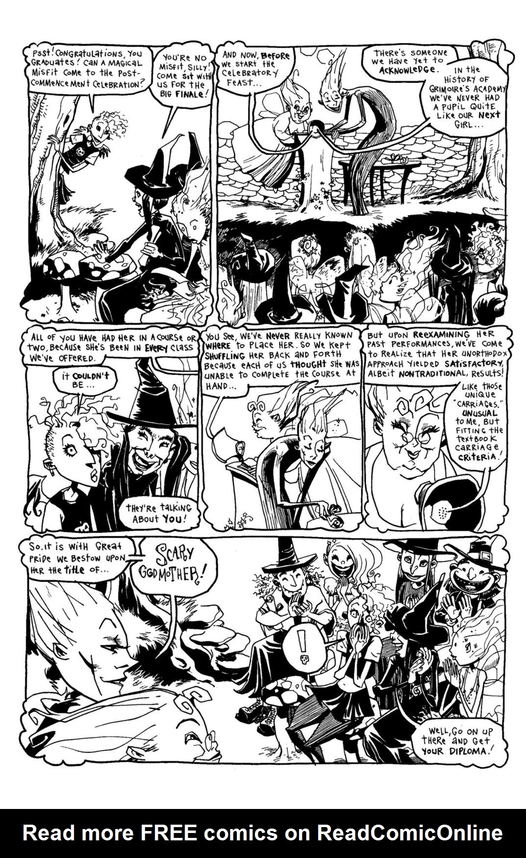 Read online Scary Godmother Comic Book Stories comic -  Issue # TPB - 200