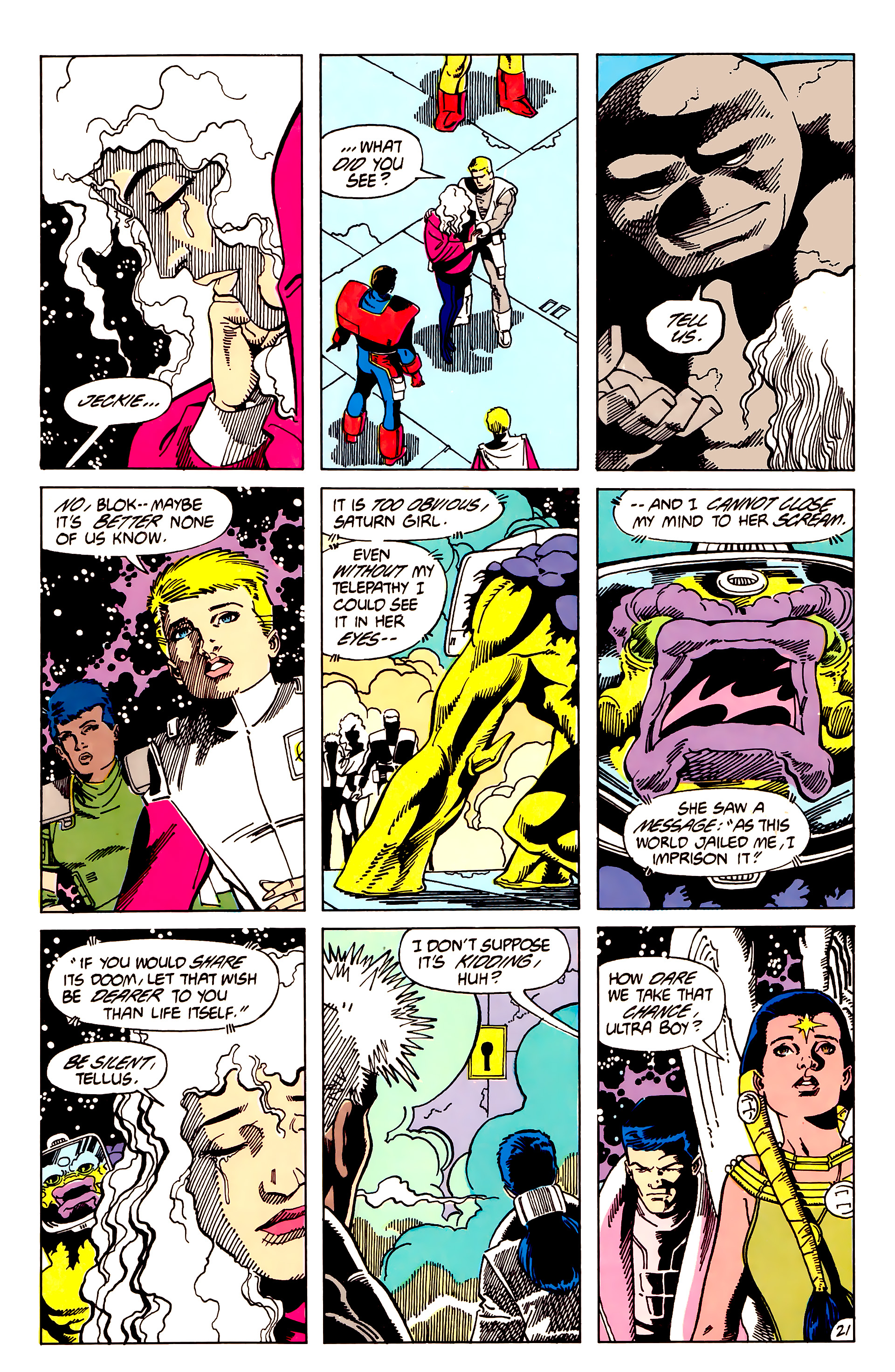 Legion of Super-Heroes (1984) 62 Page 21