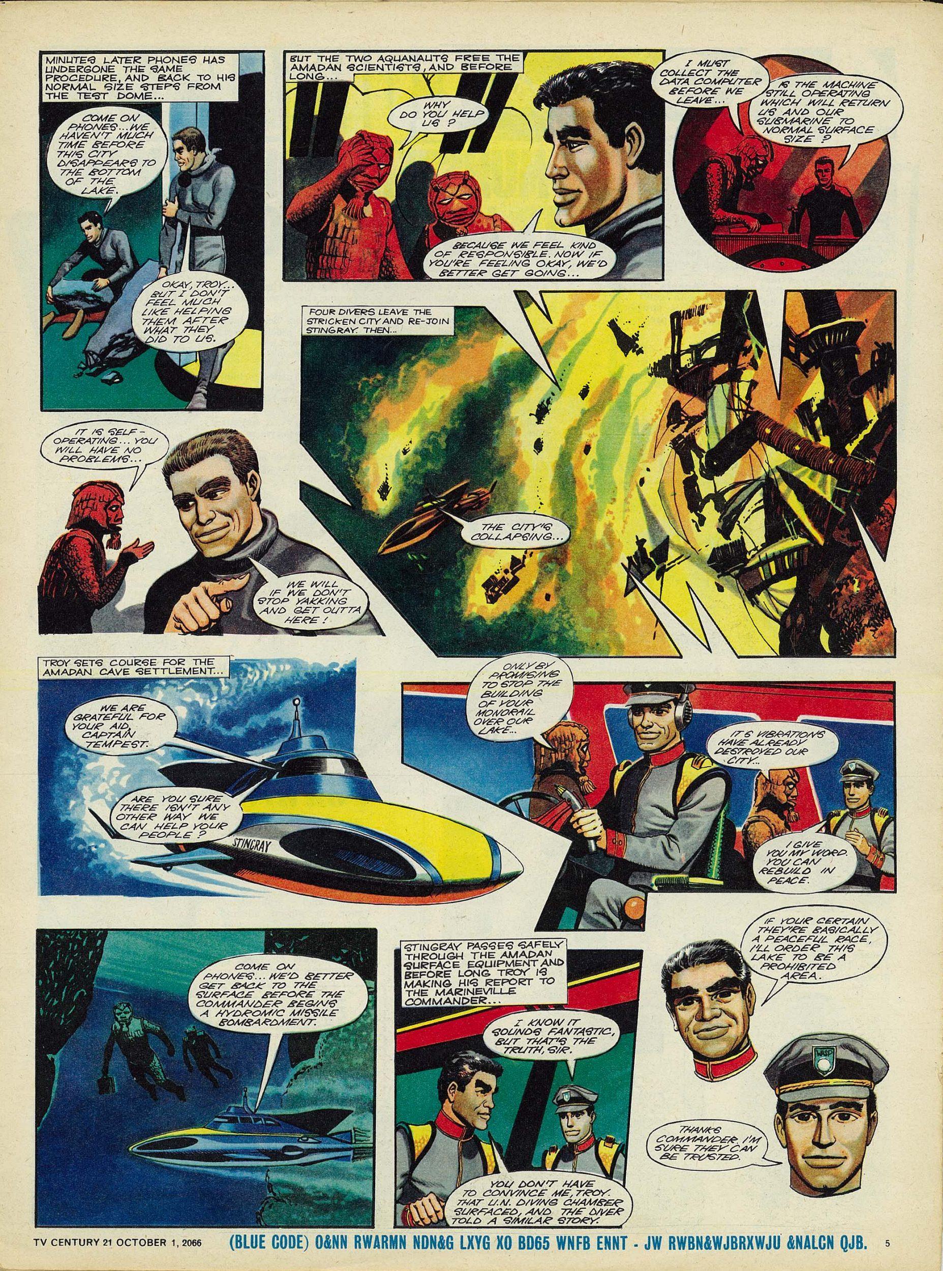 Read online TV Century 21 (TV 21) comic -  Issue #89 - 5