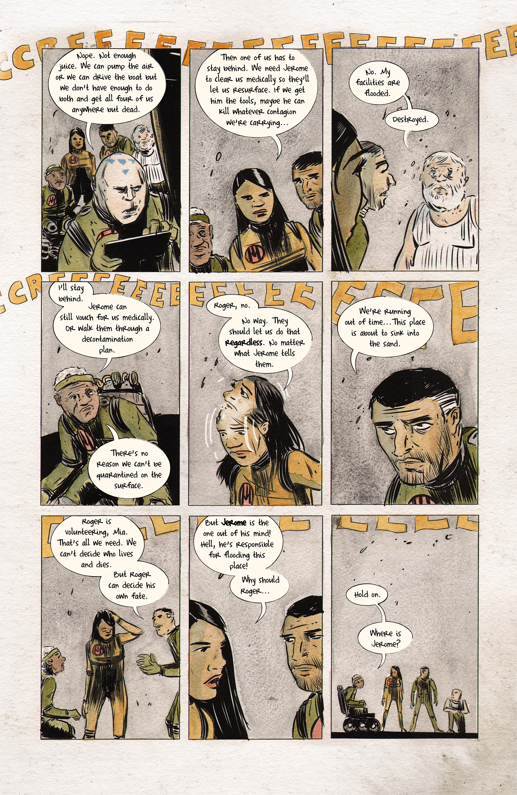 Read online Dept. H comic -  Issue #14 - 4