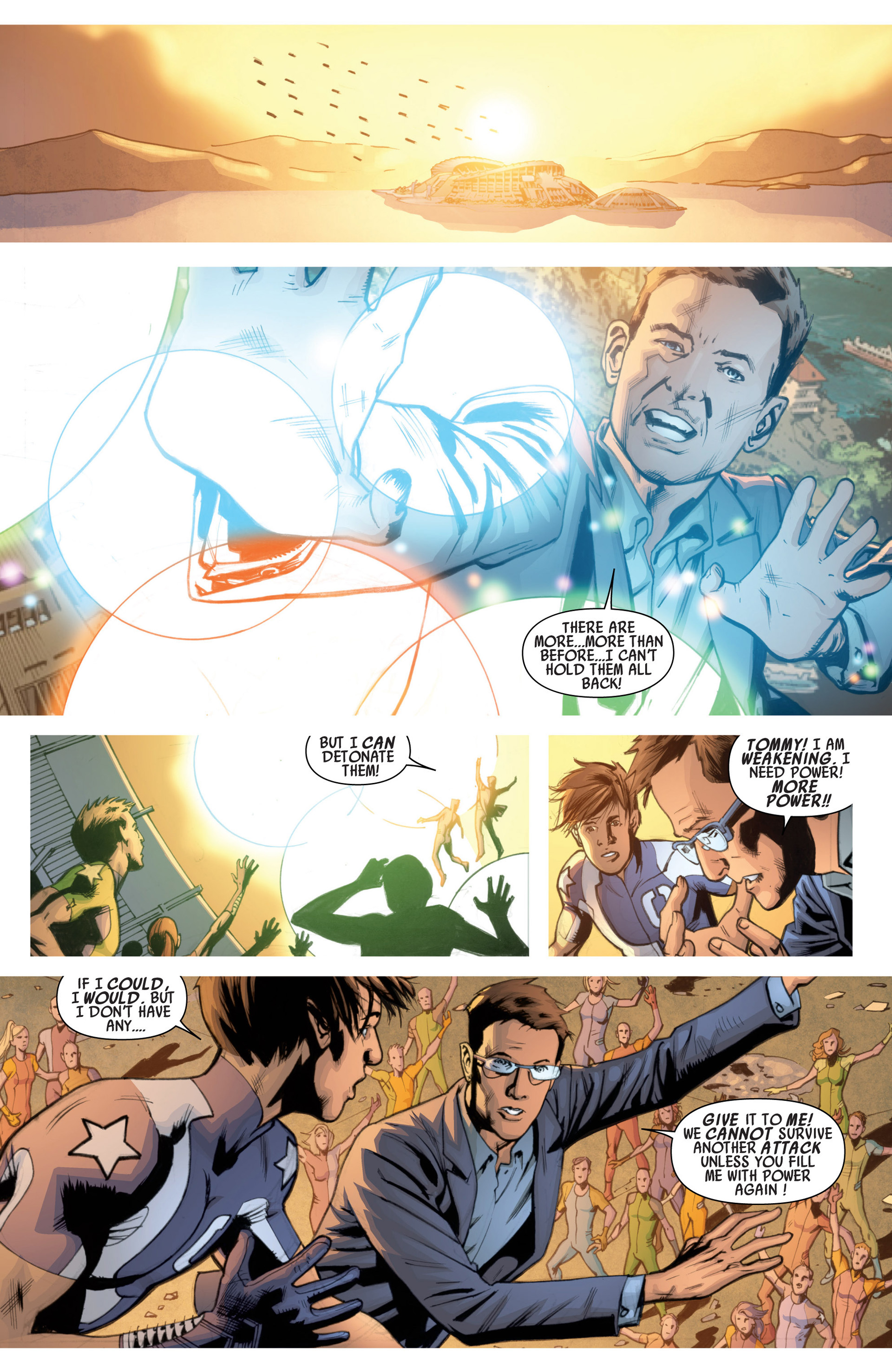 Read online America's Got Powers comic -  Issue #7 - 11
