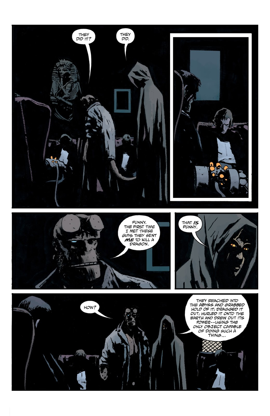 Read online B.P.R.D. The Devil You Know comic -  Issue #15 - 9