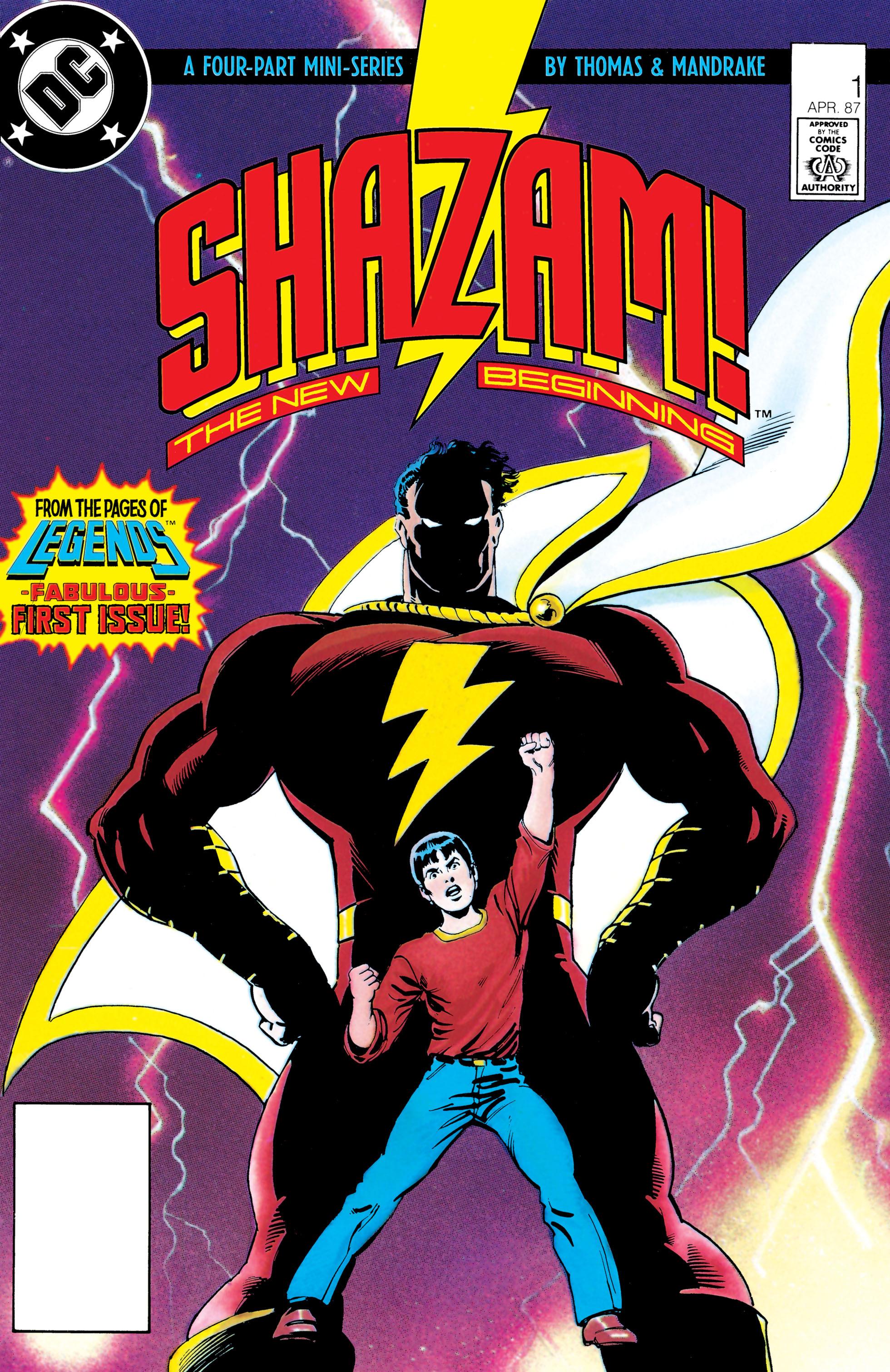 Shazam!: The New Beginning 1 Page 1