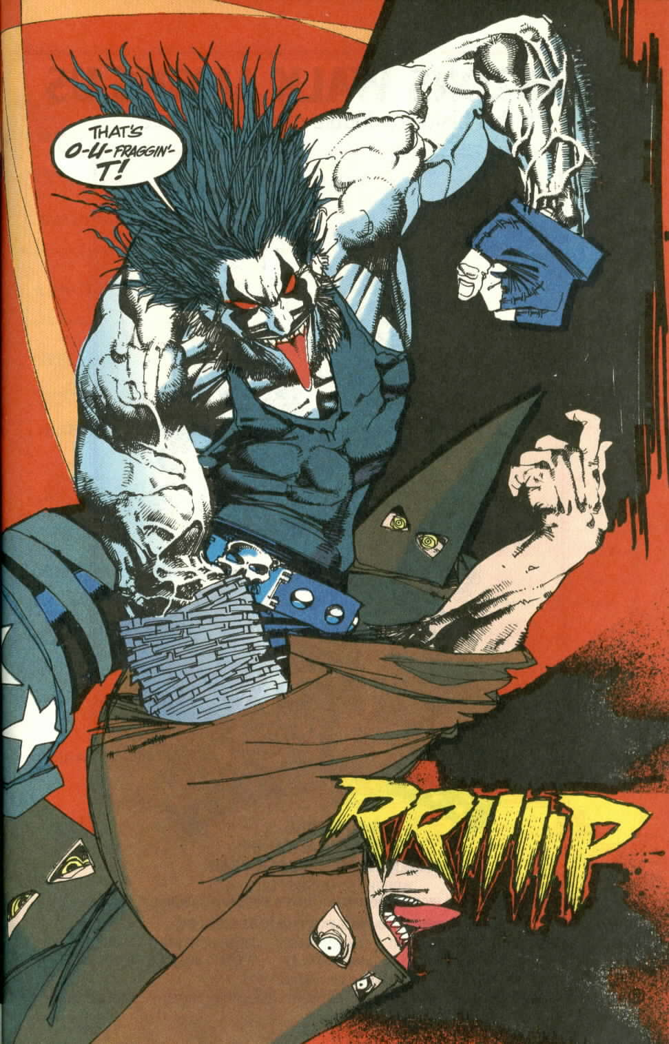 Read online Lobo (1990) comic -  Issue #3 - 18