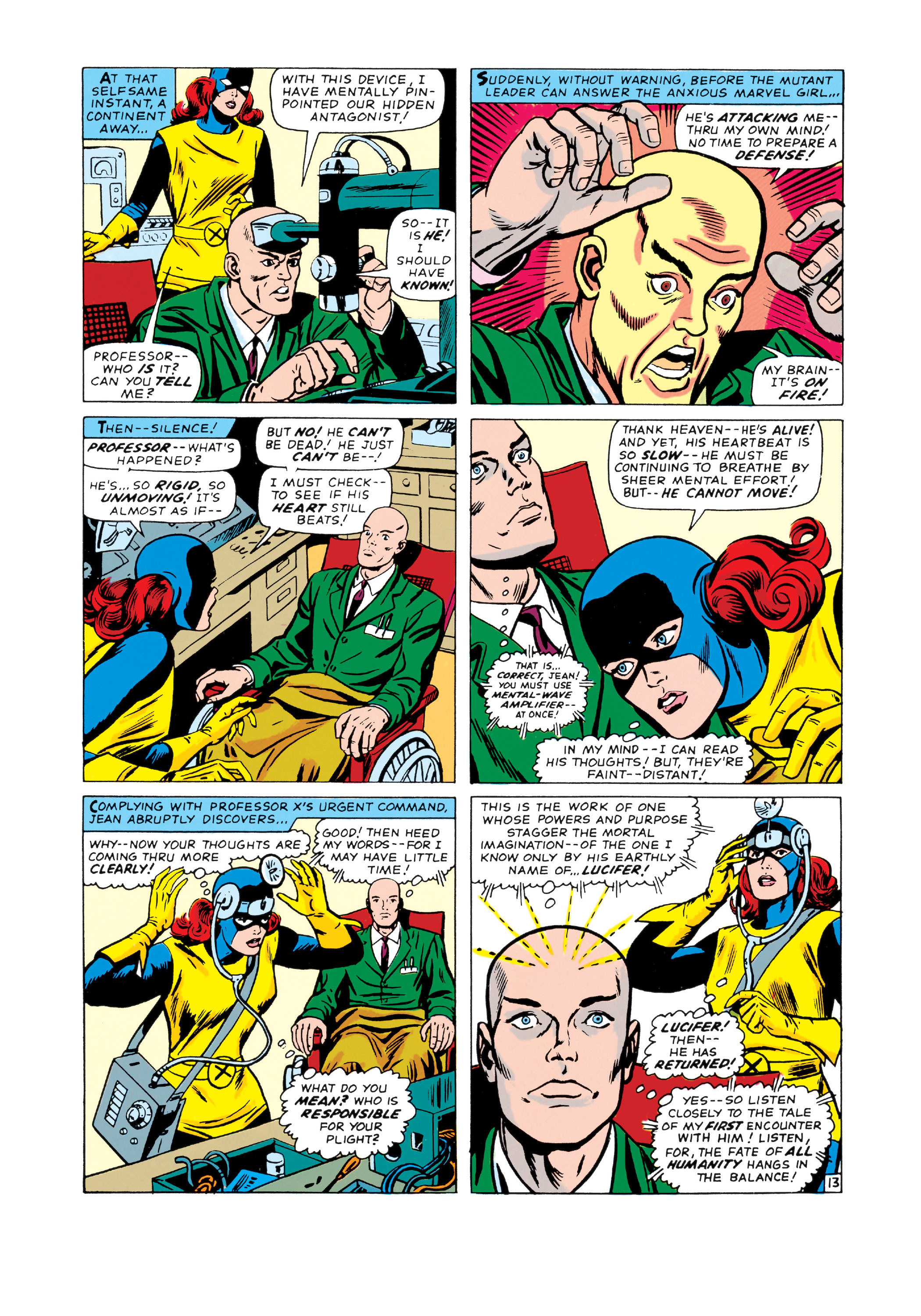 Read online Uncanny X-Men (1963) comic -  Issue #20 - 14
