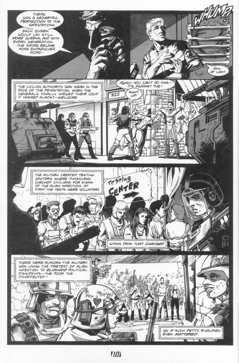 Read online Aliens (1988) comic -  Issue #6 - 12