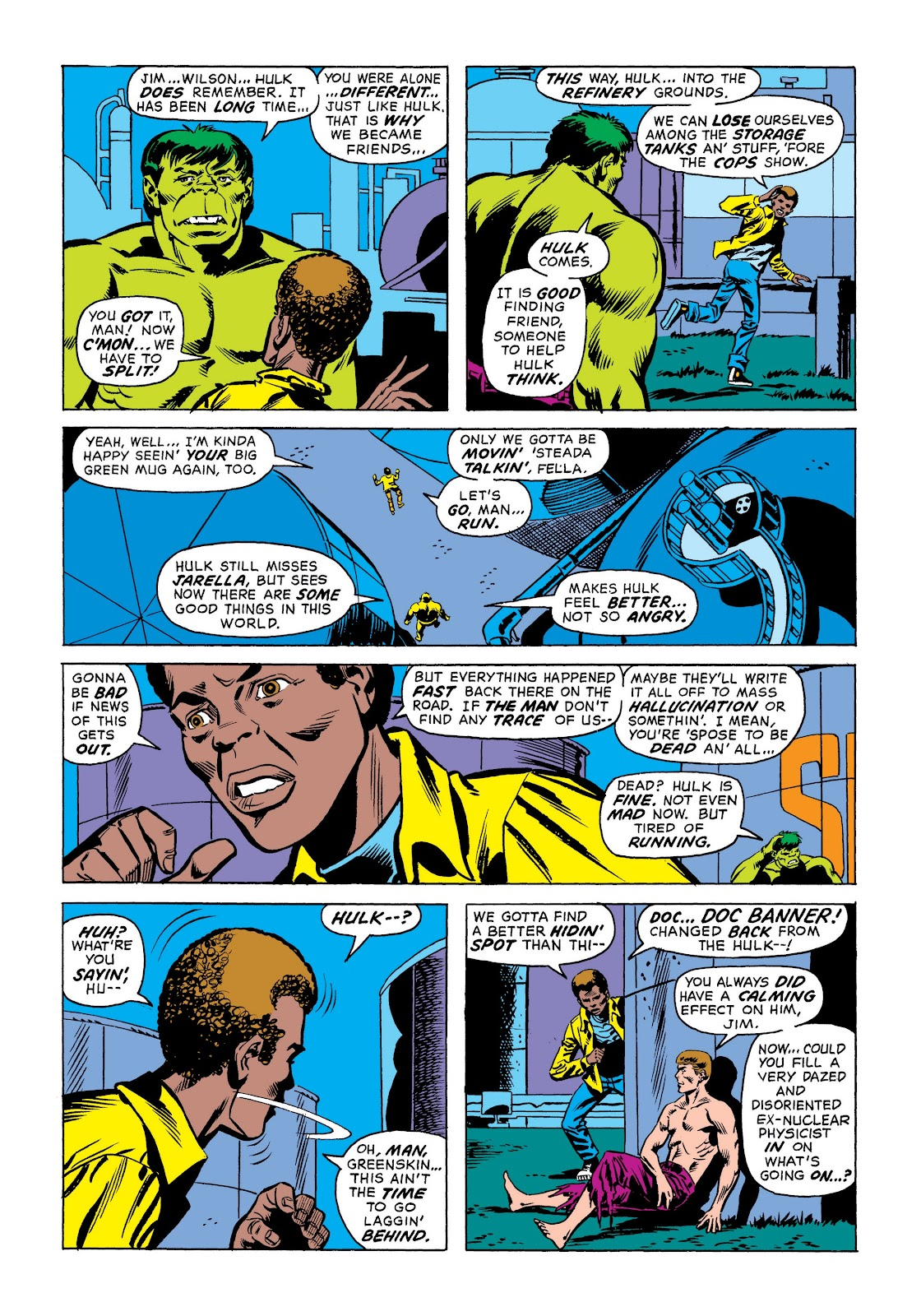 Read online Marvel Masterworks: The Incredible Hulk comic -  Issue # TPB 9 (Part 1) - 22