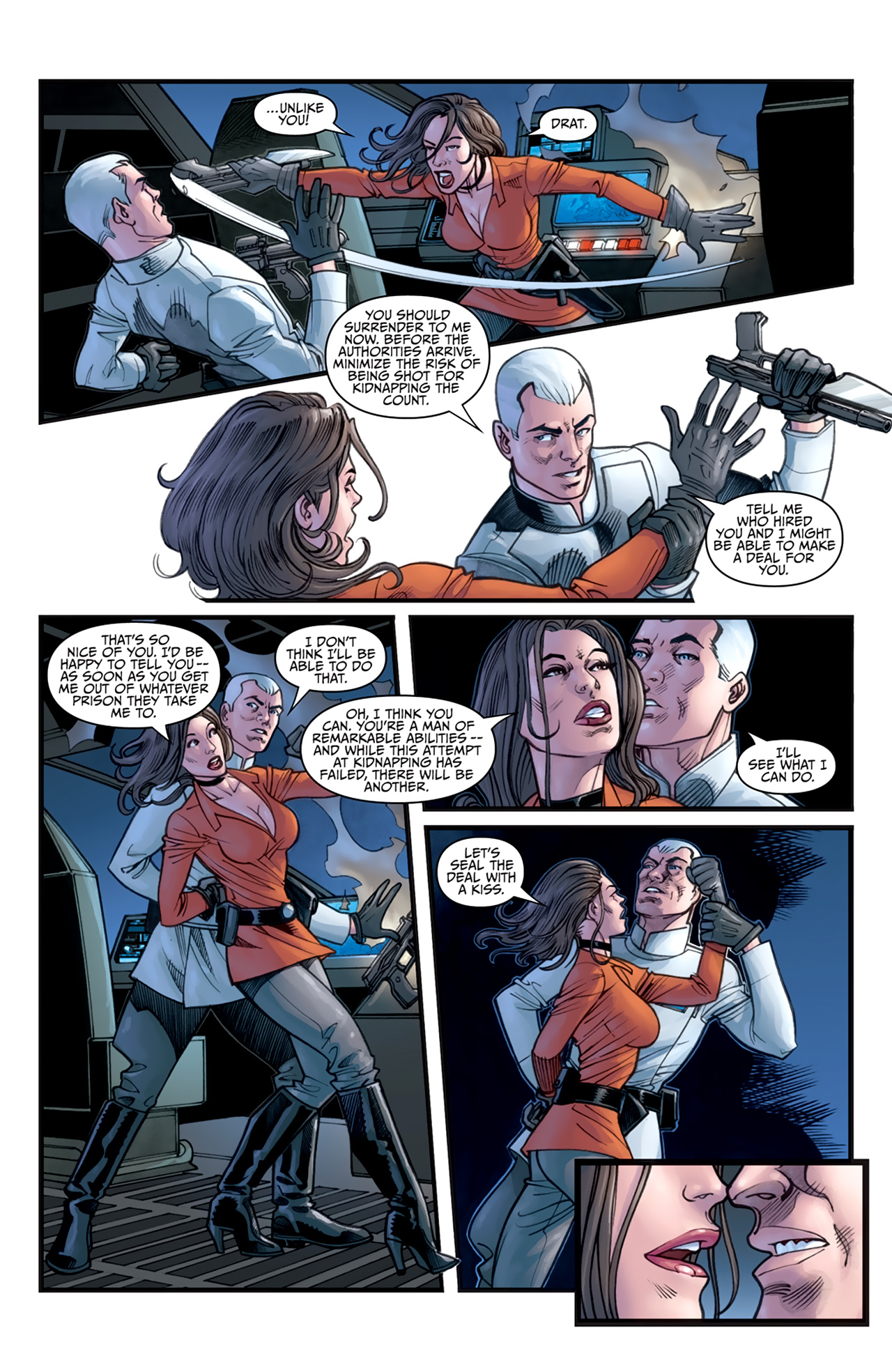 Read online Star Wars: Agent Of The Empire - Hard Targets comic -  Issue #3 - 8