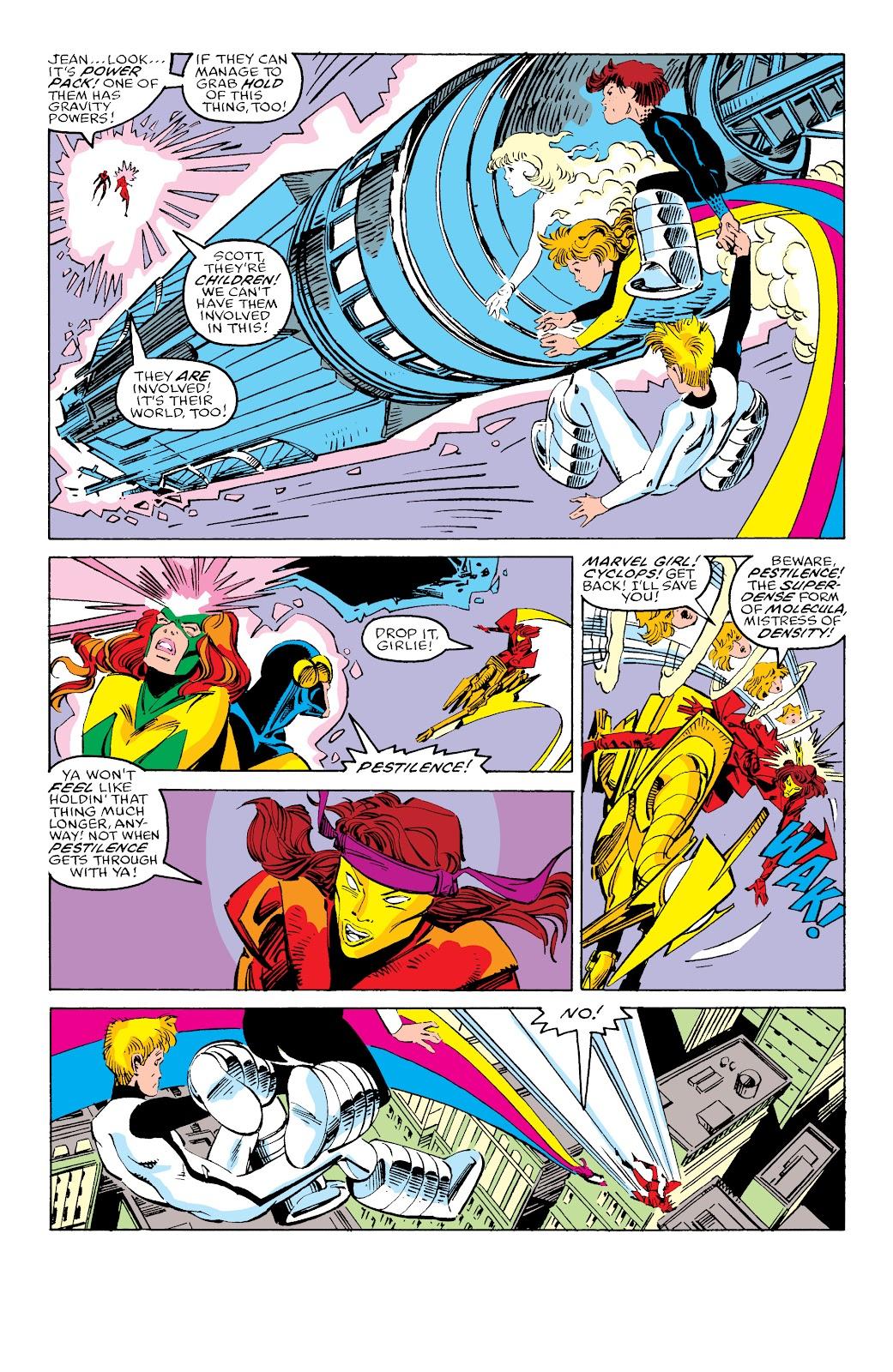 Read online X-Men Milestones: Fall of the Mutants comic -  Issue # TPB (Part 3) - 27