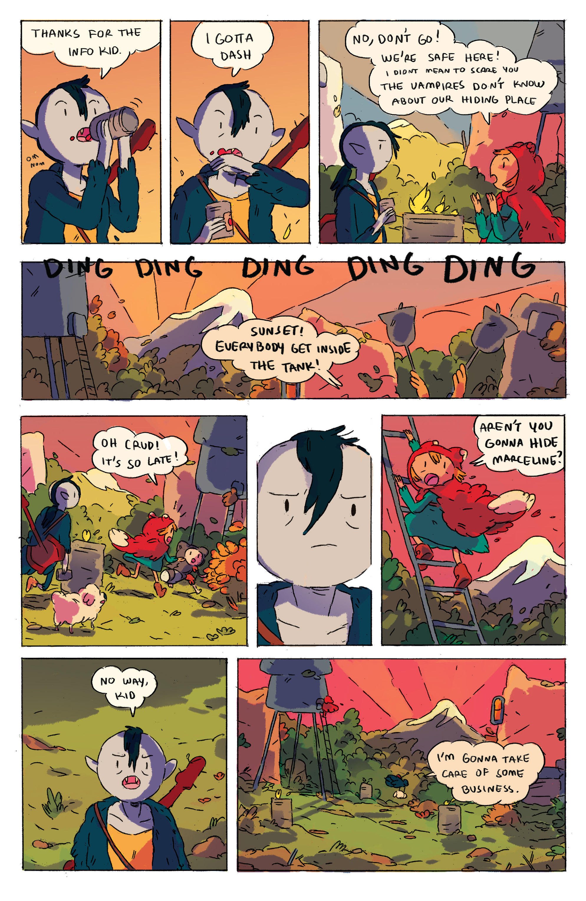 Read online Adventure Time comic -  Issue # _2015 Spoooktacular - 14
