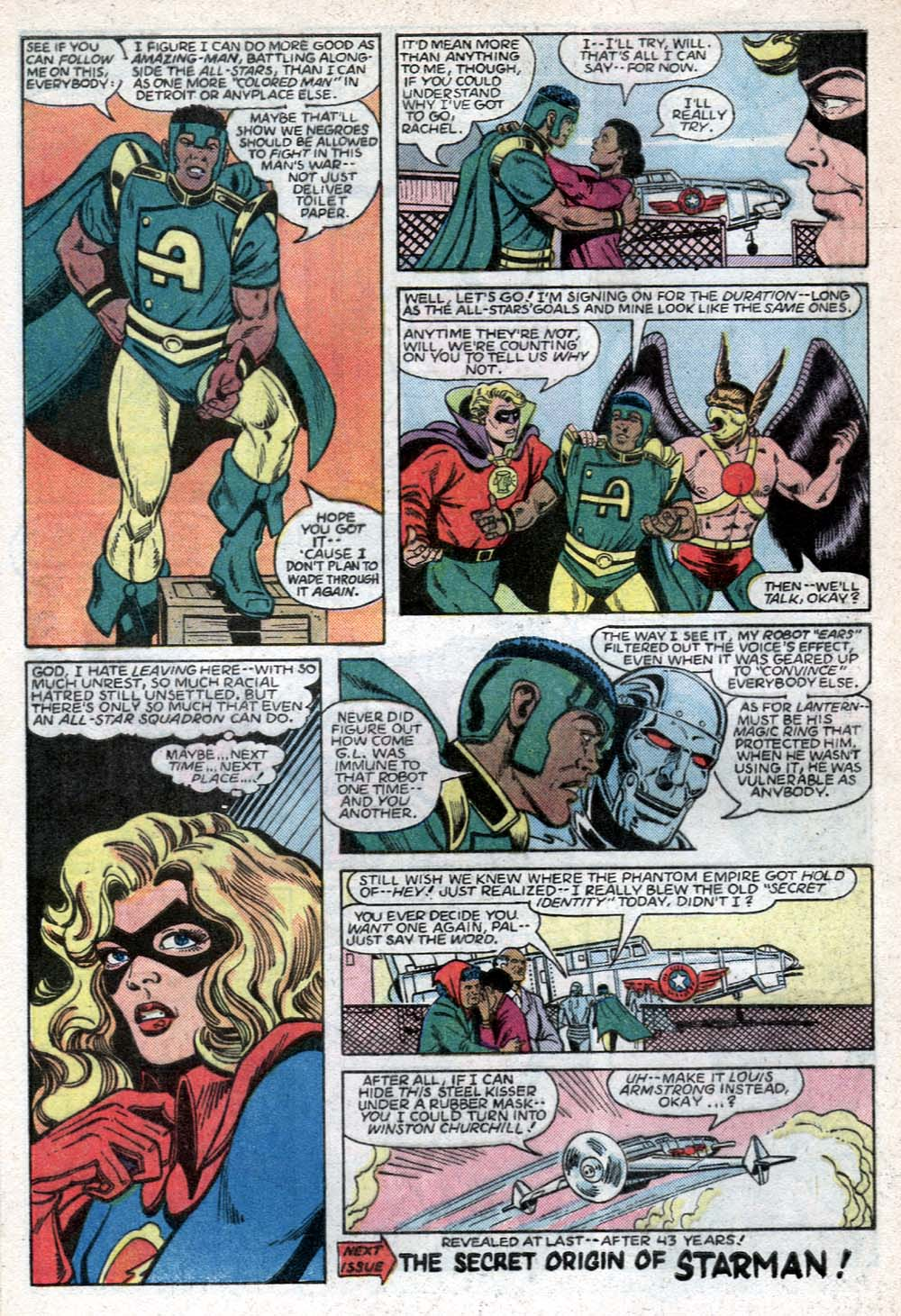 Read online All-Star Squadron comic -  Issue #40 - 22