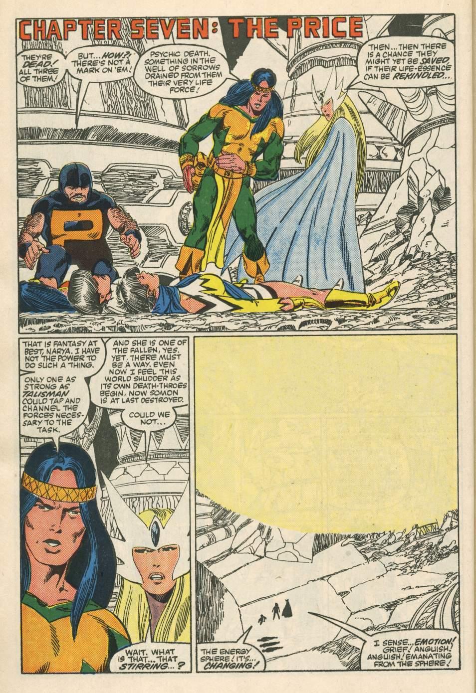 Read online Alpha Flight (1983) comic -  Issue #24 - 30