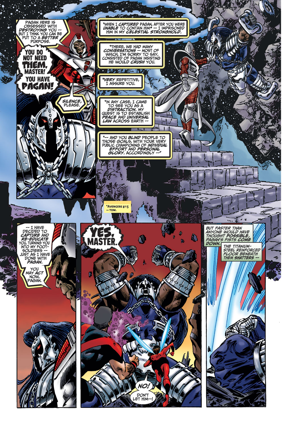 Read online Avengers (1998) comic -  Issue #36 - 15