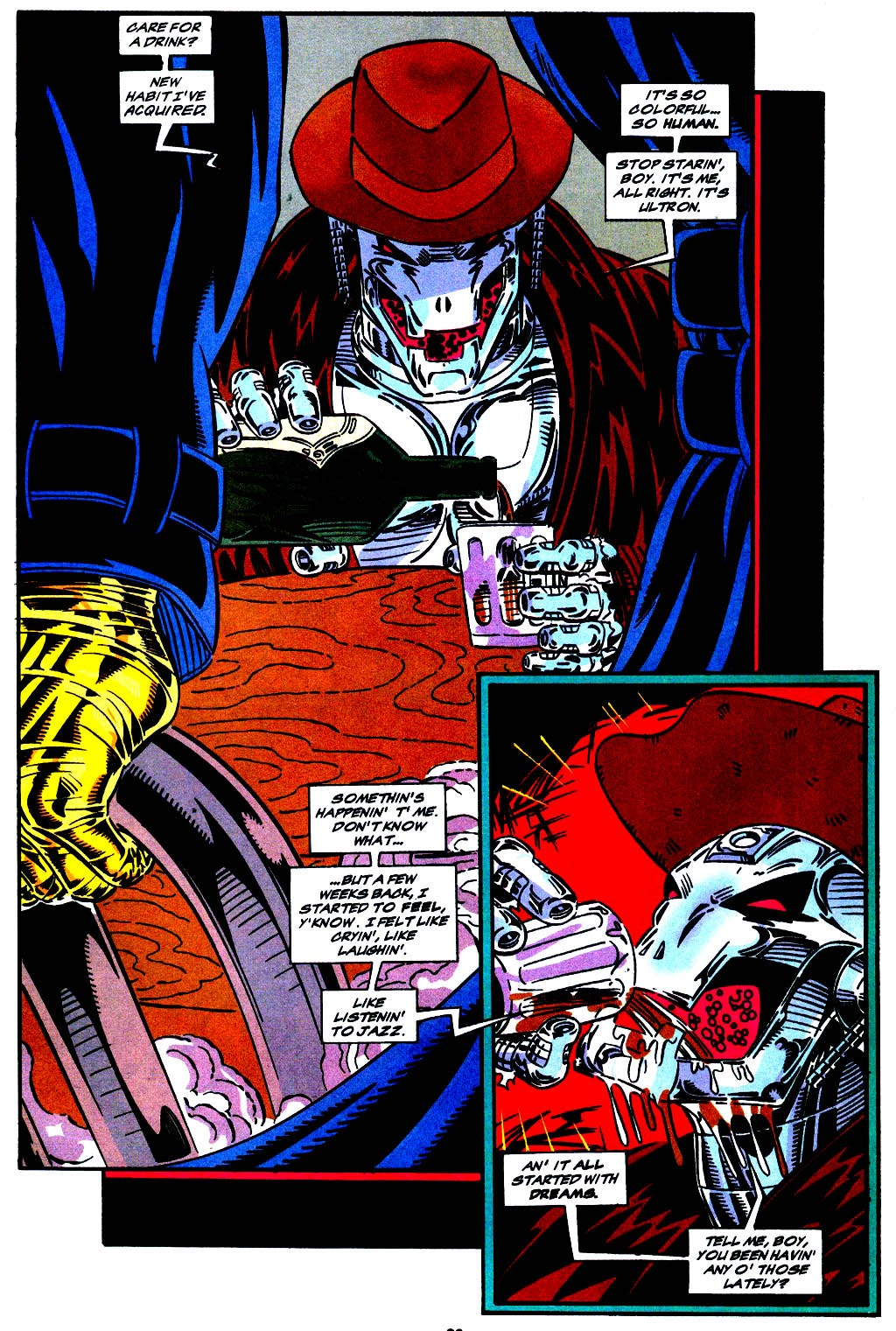 Read online The Vision comic -  Issue #1 - 15