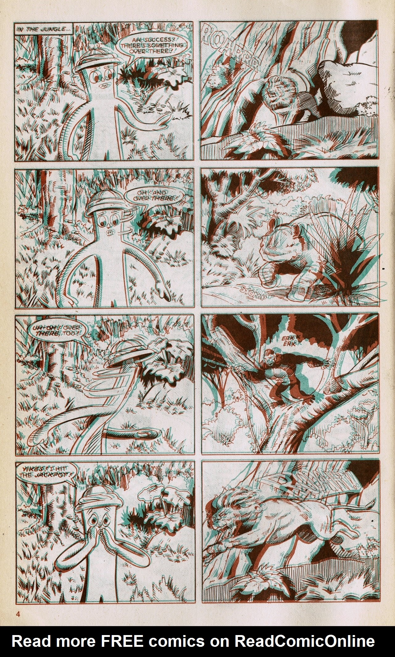 Gumby 3-D issue 1 - Page 6