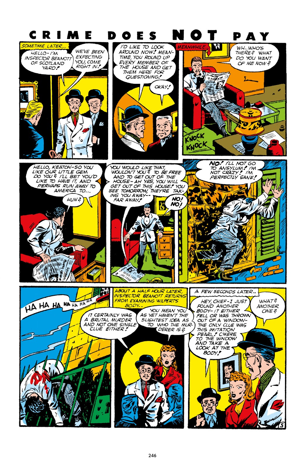 Read online Crime Does Not Pay Archives comic -  Issue # TPB 1 (Part 3) - 49