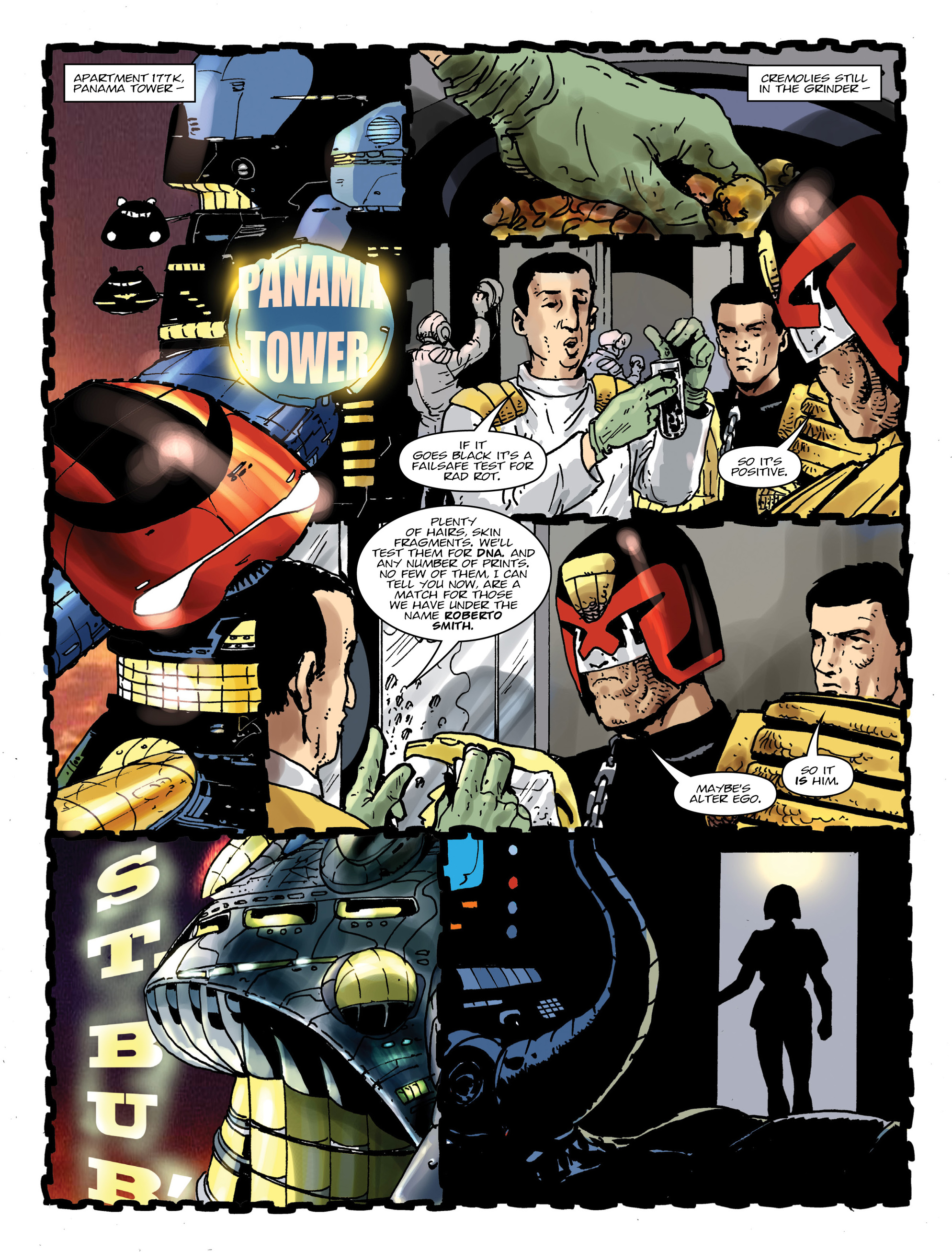 Read online 2000 AD comic -  Issue #1992 - 7