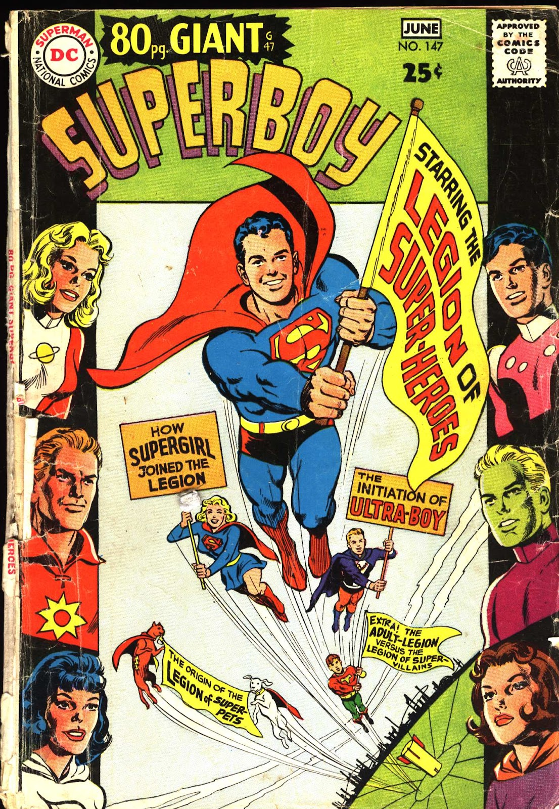 Superboy (1949) issue 147 - Page 1