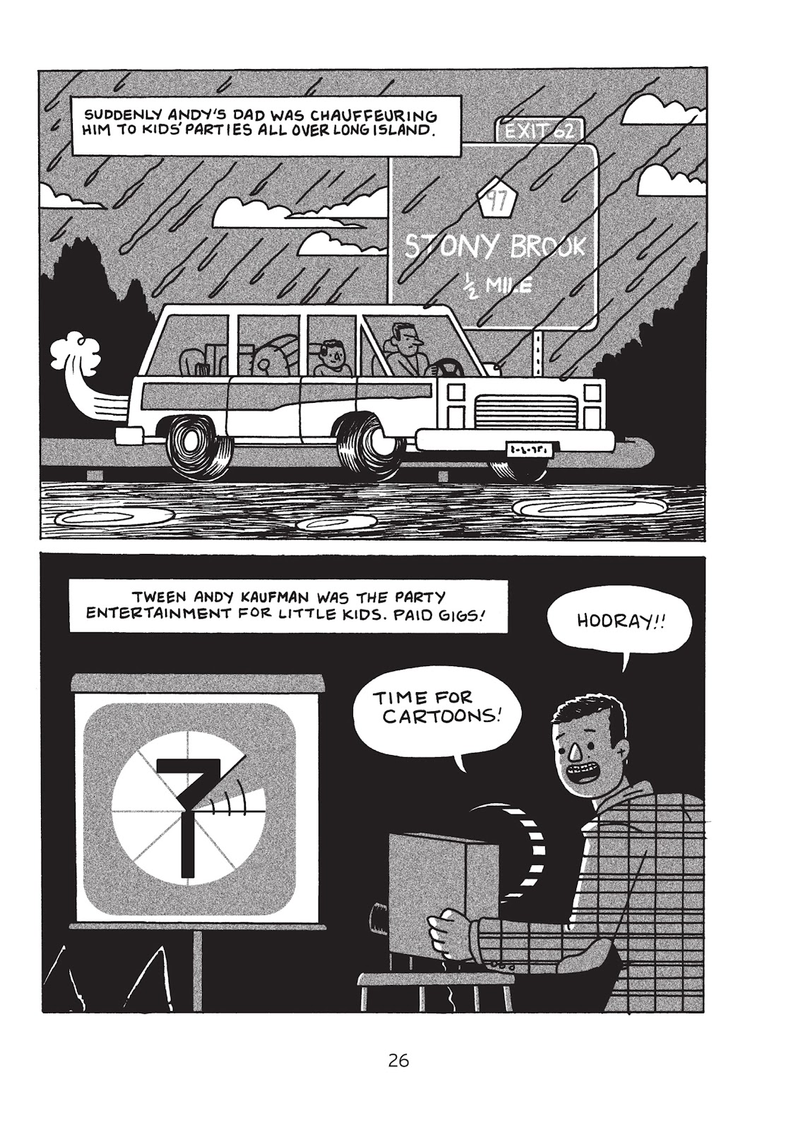 Read online Is This Guy For Real?: The Unbelievable Andy Kaufman comic -  Issue # TPB (Part 1) - 31