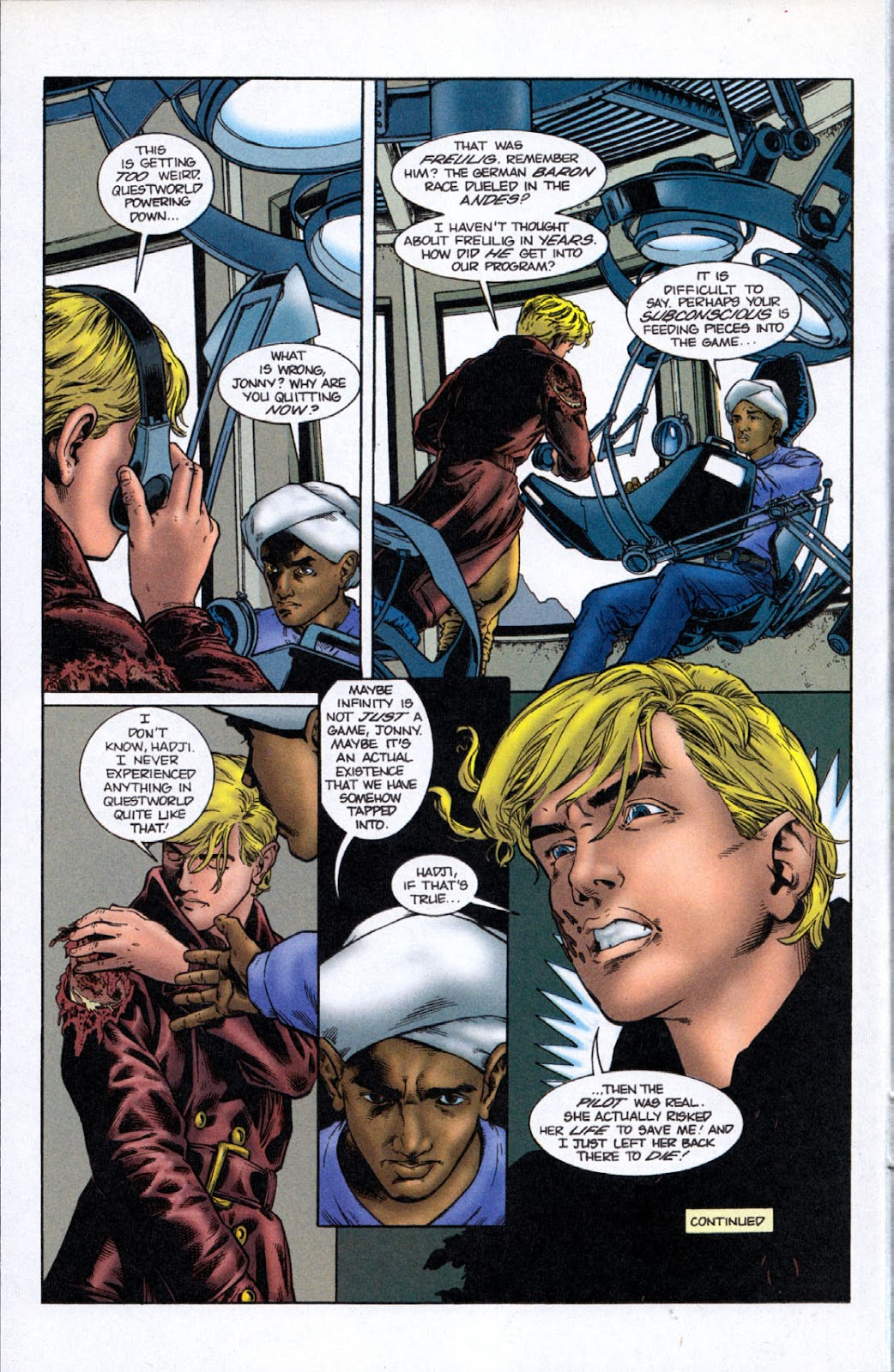 Read online The Real Adventures of Jonny Quest comic -  Issue #8 - 12