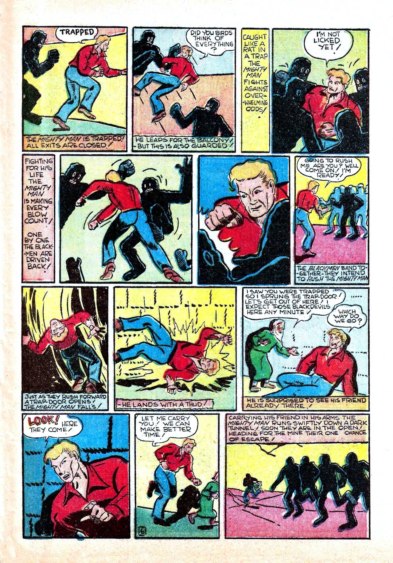 Read online Amazing Man Comics comic -  Issue #11 - 57
