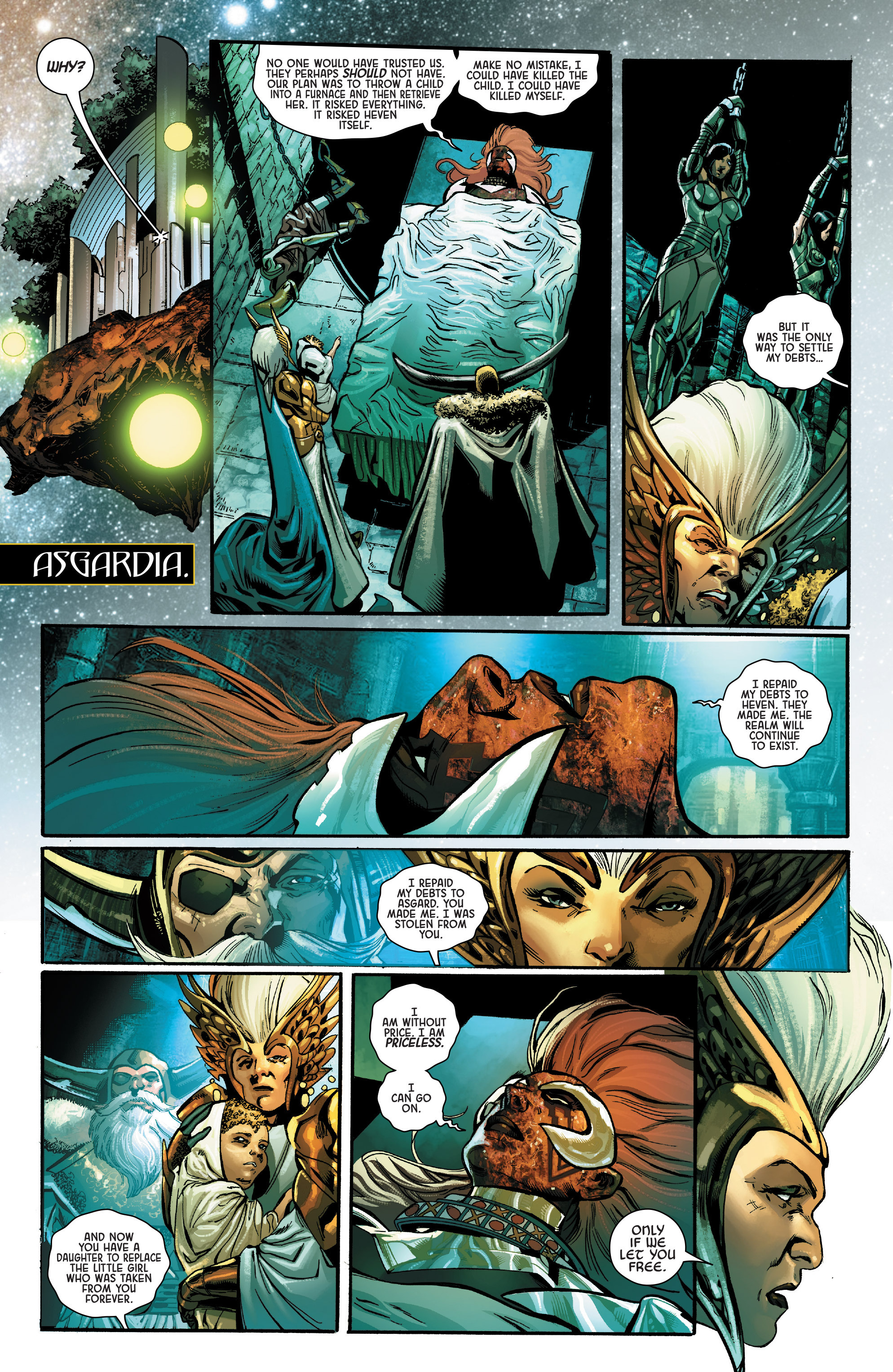 Read online Angela: Asgard's Assassin comic -  Issue #6 - 11