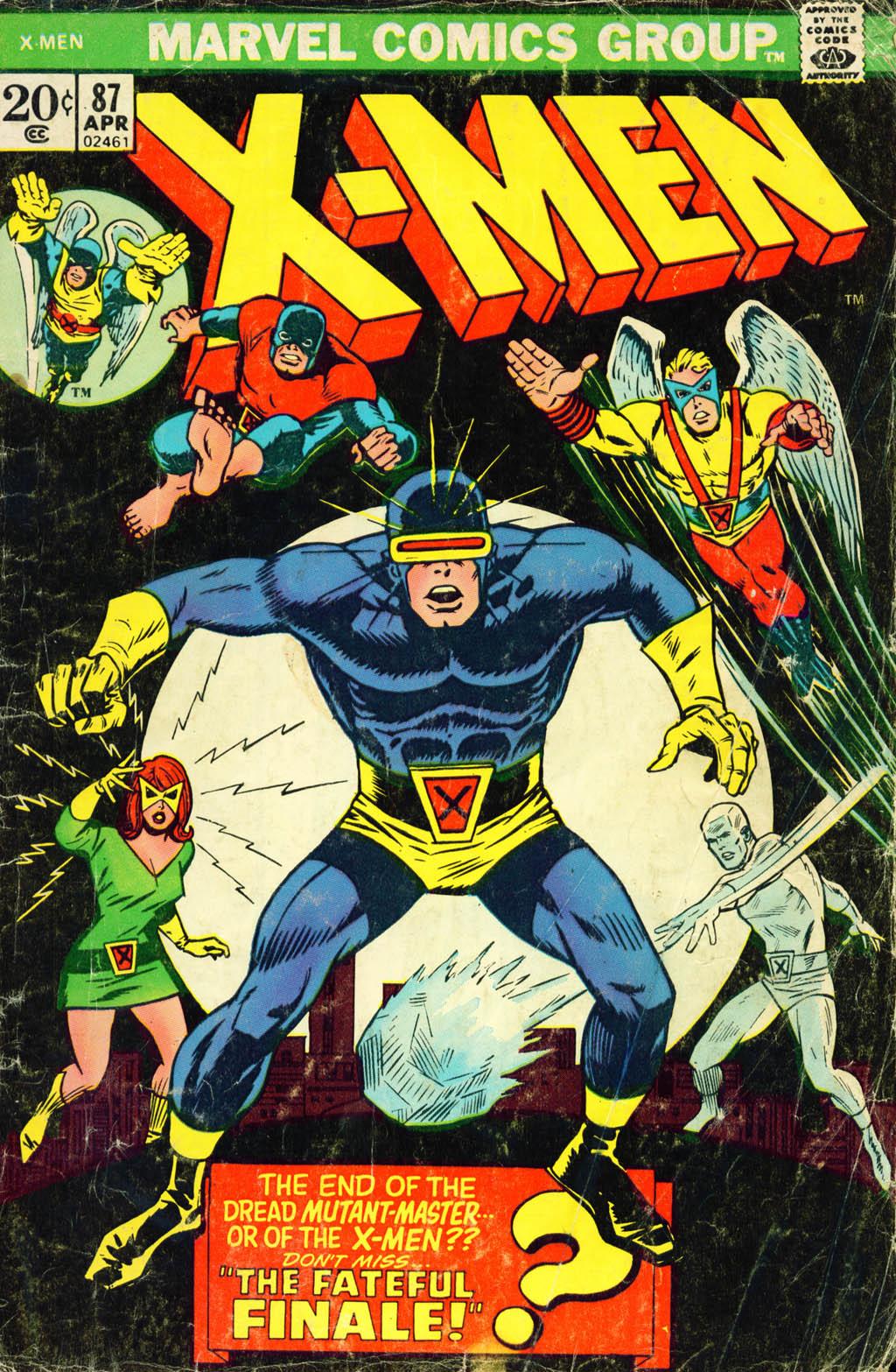 Uncanny X-Men (1963) issue 87 - Page 1