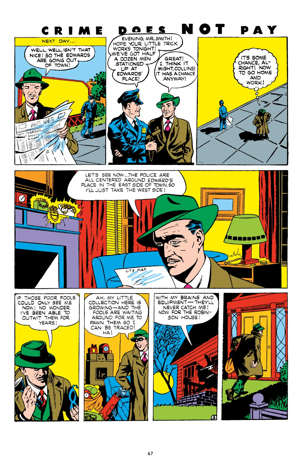 Read online Crime Does Not Pay Archives comic -  Issue # TPB 8 (Part 1) - 68