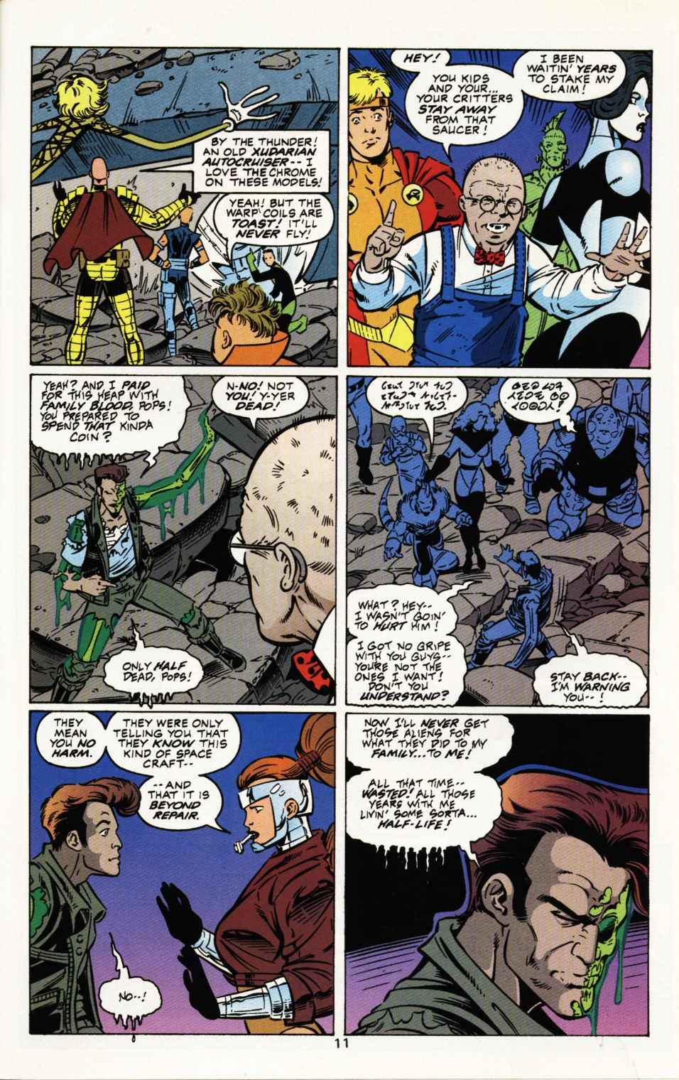 Read online Superboy & The Ravers comic -  Issue #3 - 12