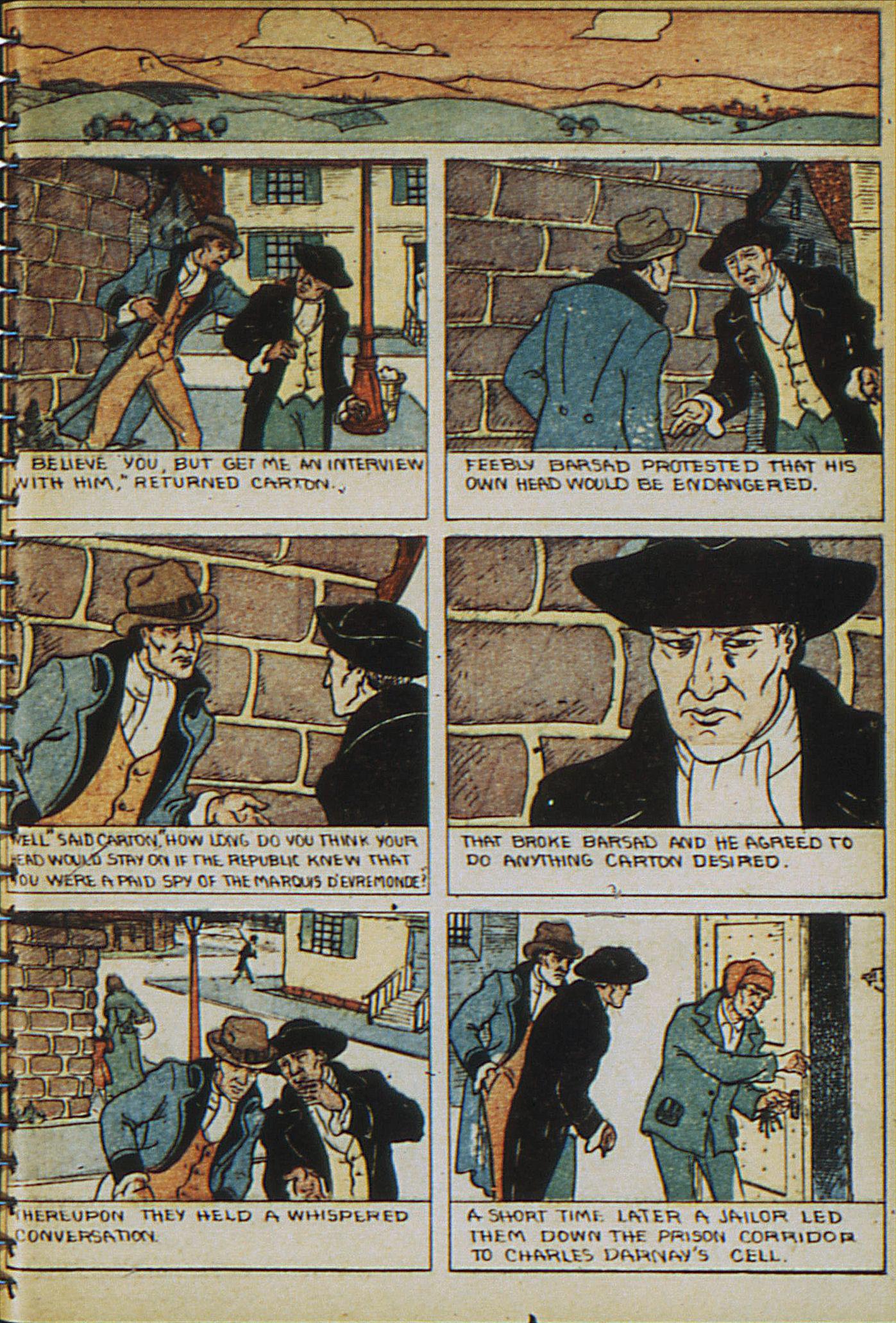 Read online Adventure Comics (1938) comic -  Issue #23 - 9