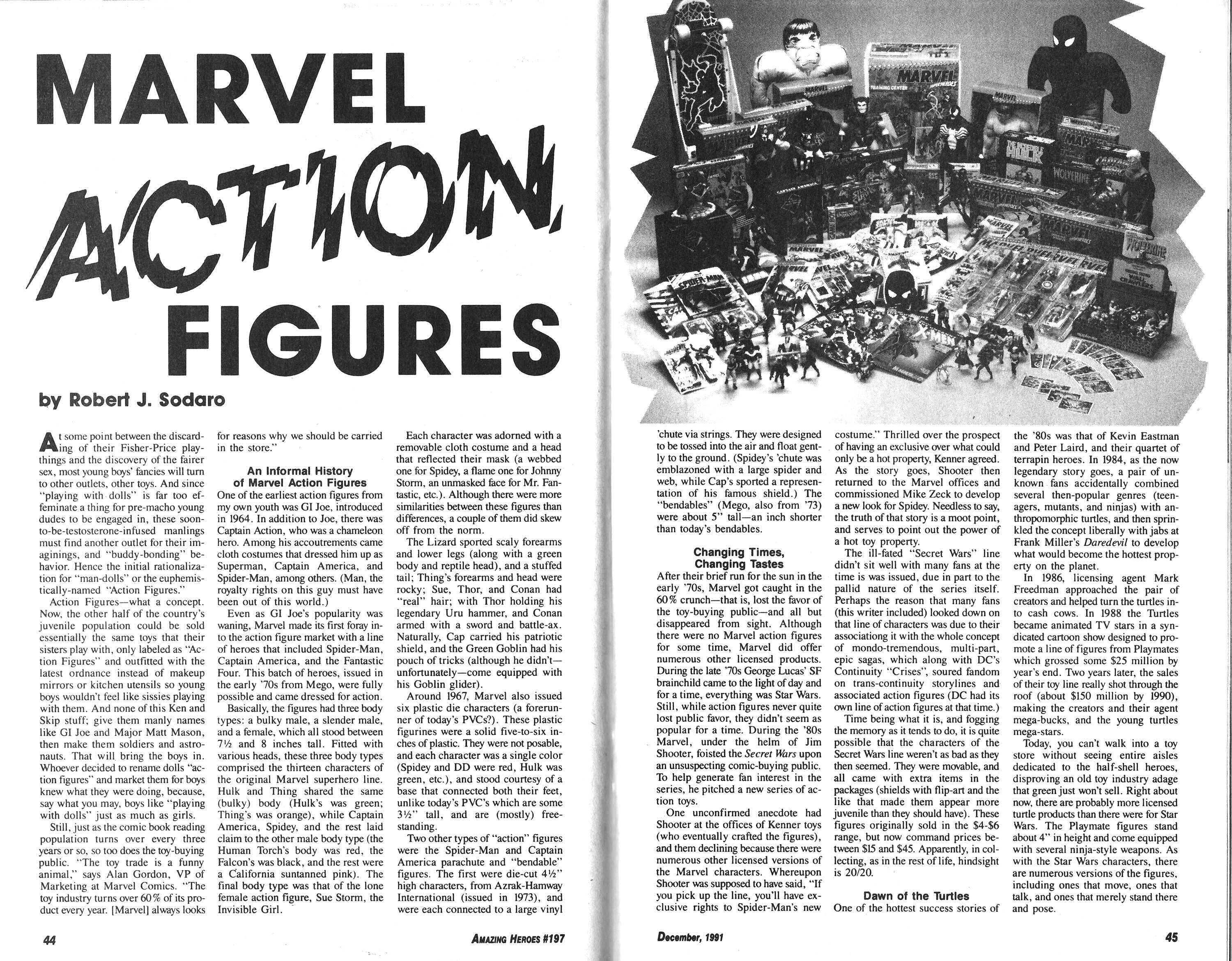 Read online Amazing Heroes comic -  Issue #197 - 23