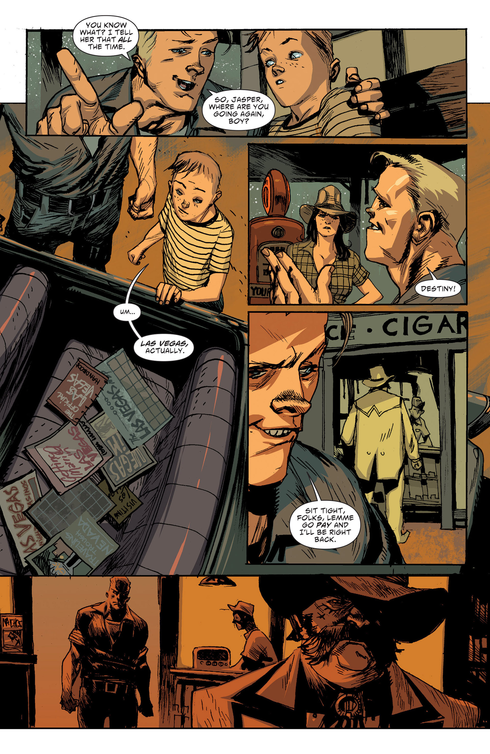 Read online American Vampire: The Long Road To Hell comic -  Issue # Full - 25