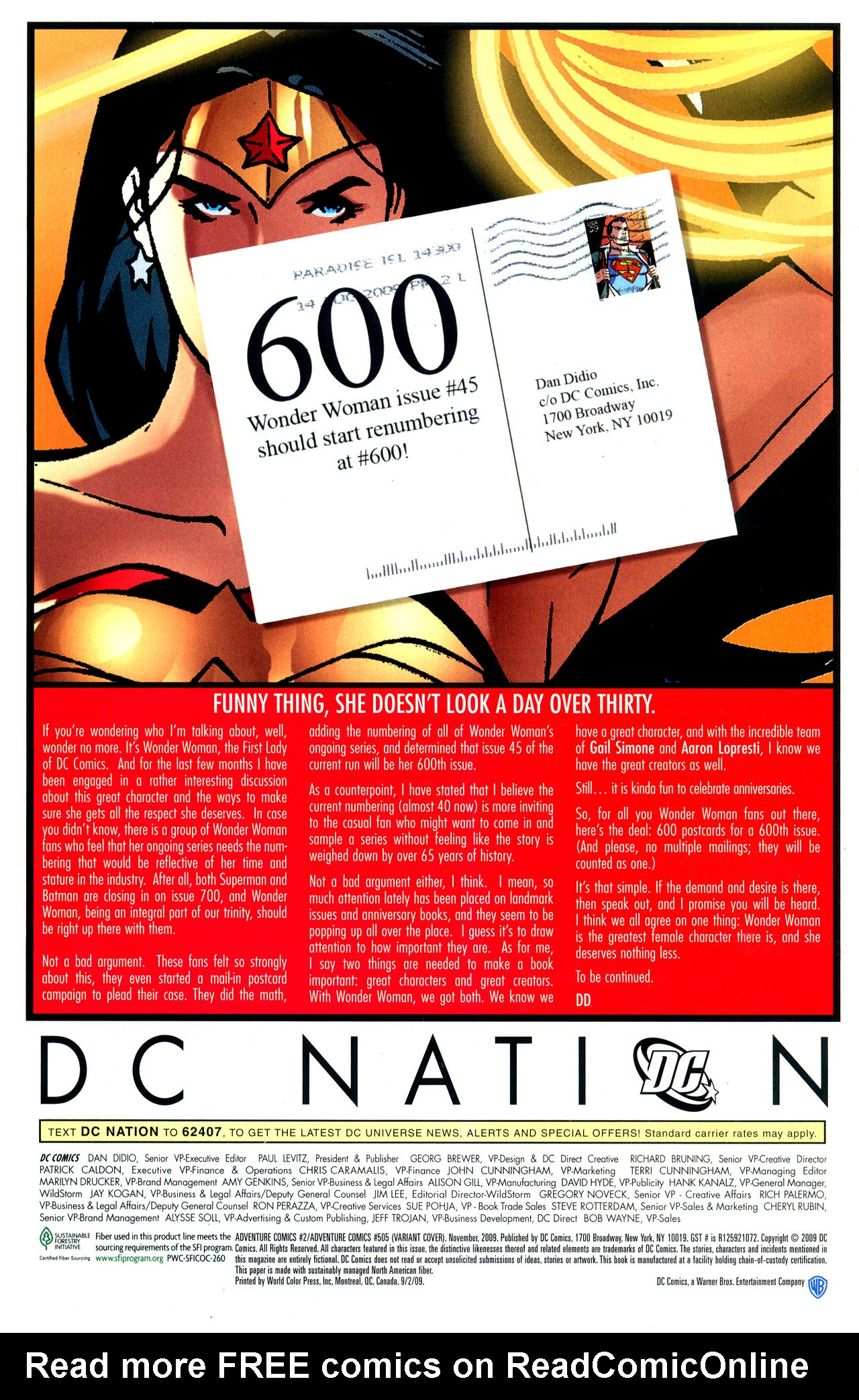 Read online Adventure Comics (2009) comic -  Issue #2 - 37