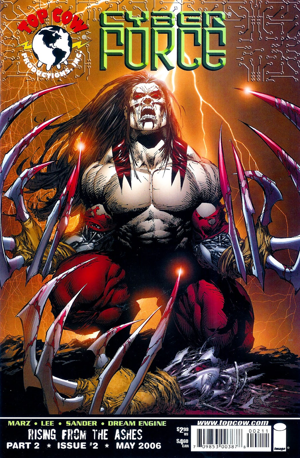 Cyberforce (2006) Issue #2 #3 - English 2