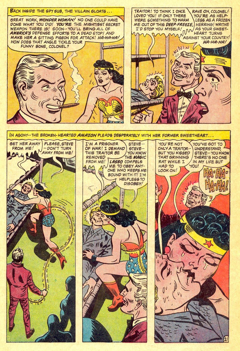 Read online Wonder Woman (1942) comic -  Issue #164 - 29