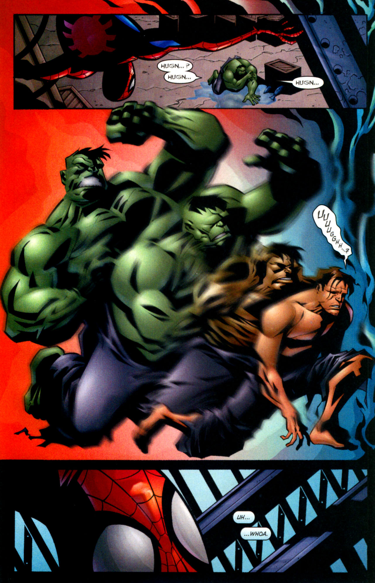Read online Ultimate Marvel Team-Up comic -  Issue #3 - 20
