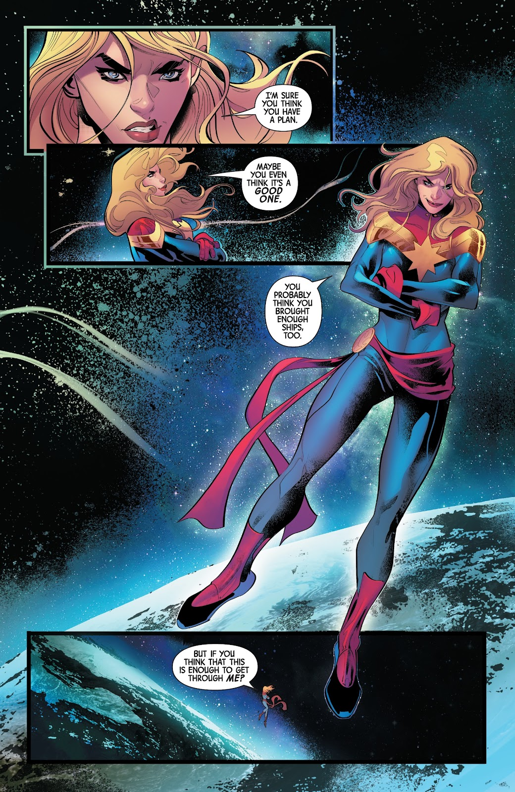 Read online Captain Marvel: Braver & Mightier comic -  Issue #1 - 3