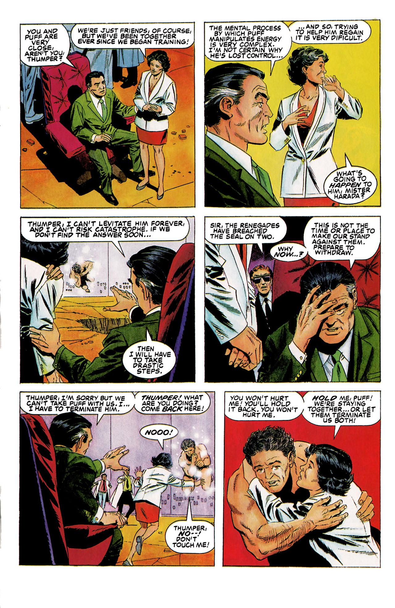 Read online Harbinger (1992) comic -  Issue #5 - 13