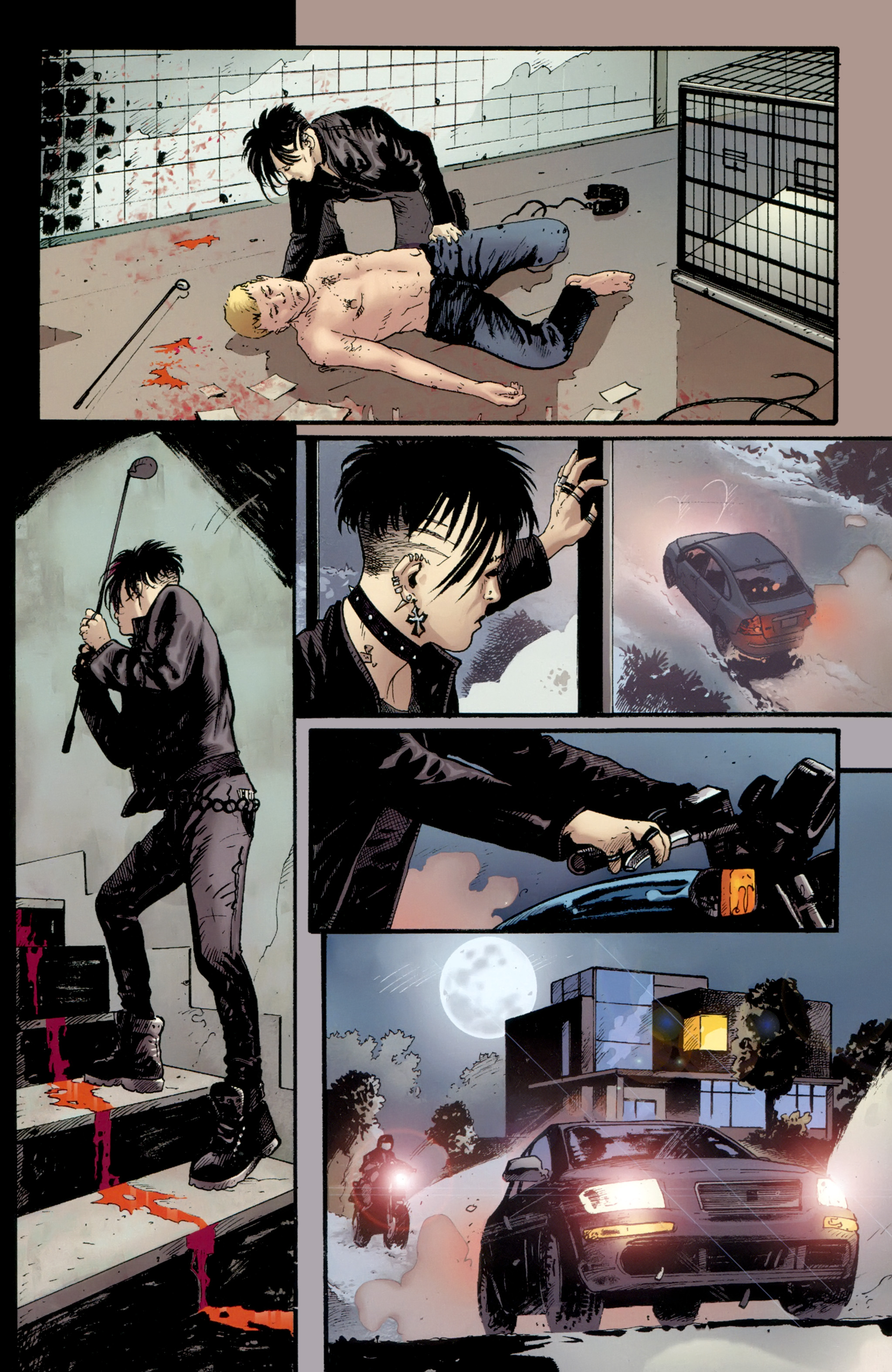 Read online The Girl With the Dragon Tattoo comic -  Issue # TPB 2 - 103
