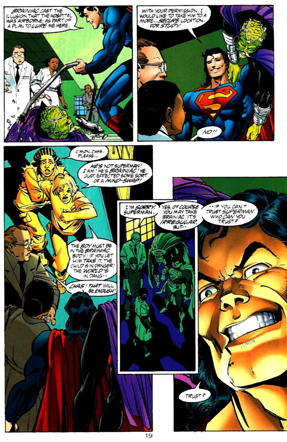 Read online Adventures of Superman (1987) comic -  Issue #536 - 20