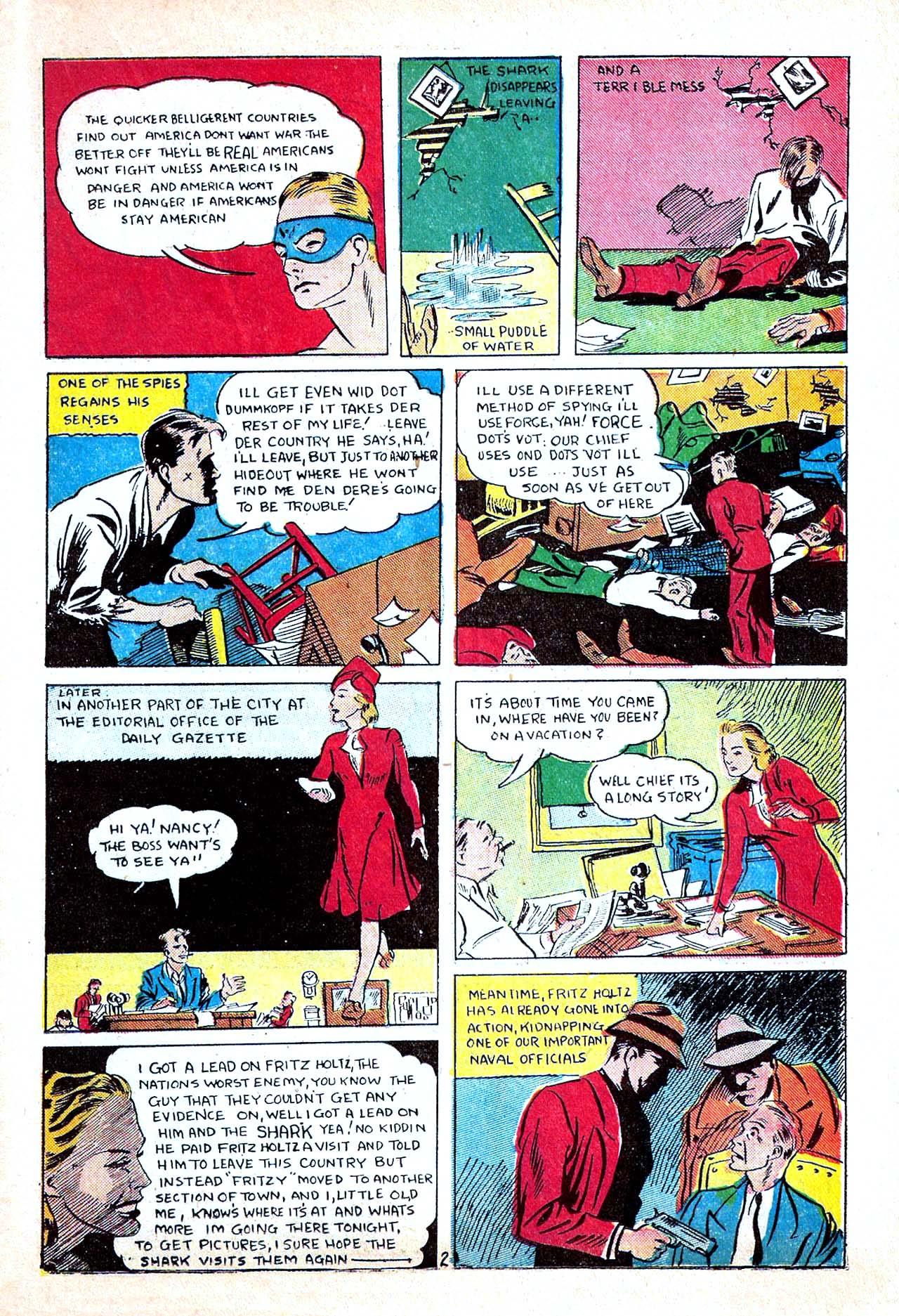 Read online Amazing Man Comics comic -  Issue #11 - 45