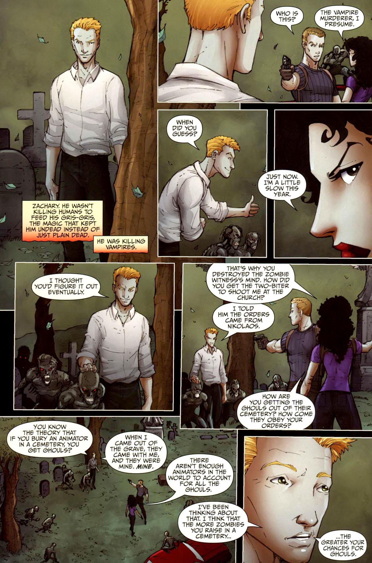 Read online Anita Blake, Vampire Hunter: Guilty Pleasures comic -  Issue #10 - 22