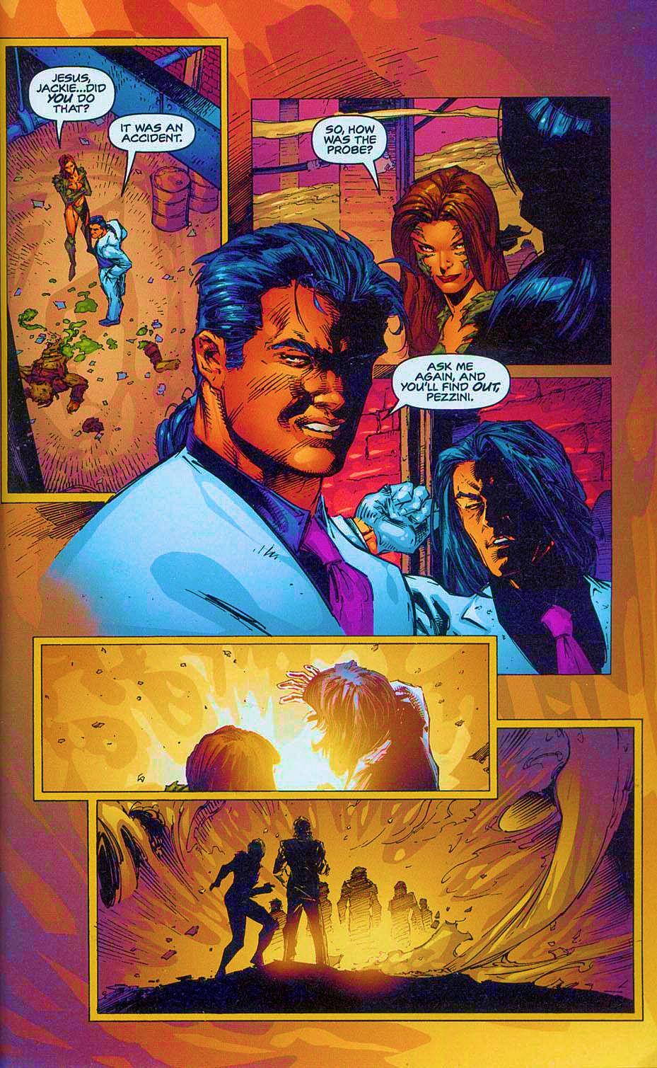 Read online Overkill: Witchblade/Aliens/Darkness/Predator comic -  Issue #2 - 30